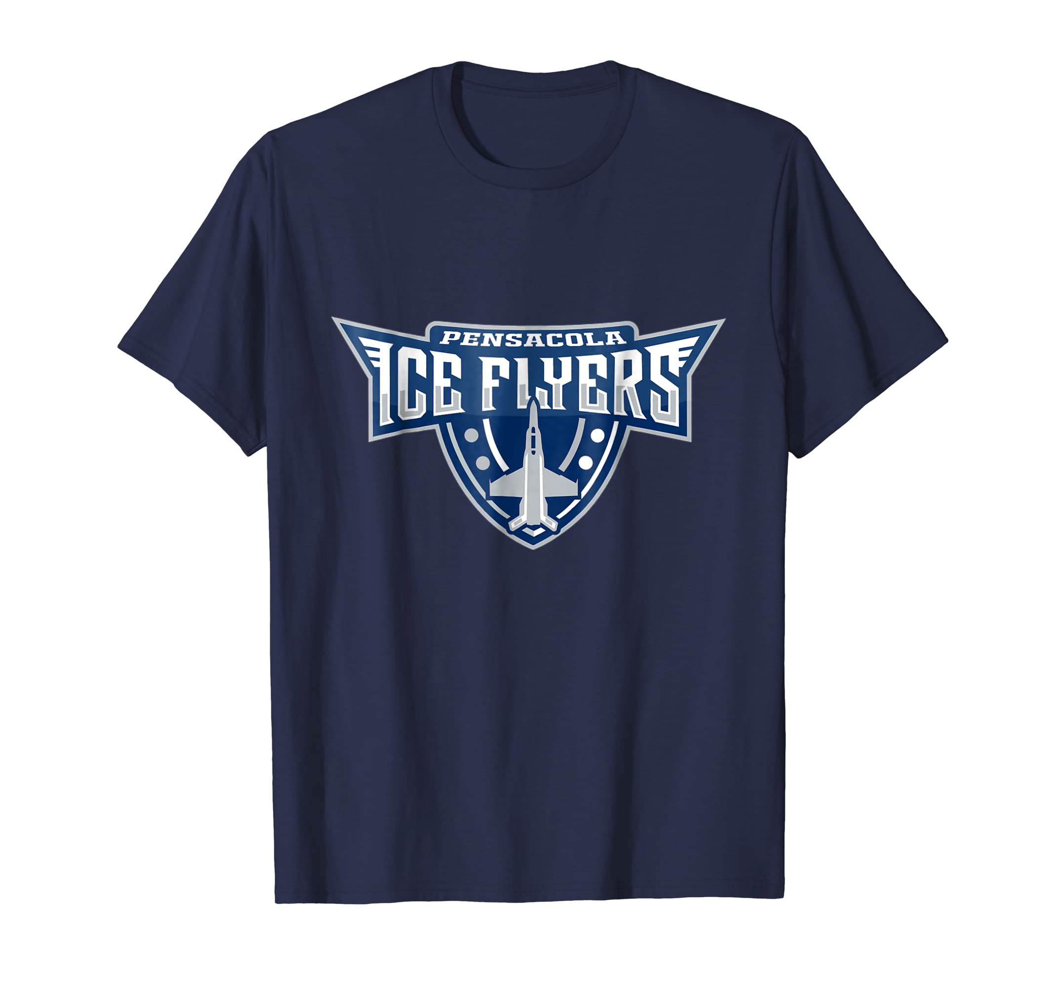 Pensacola Ice Flyers T shirt Logo Graphic Design-azvn