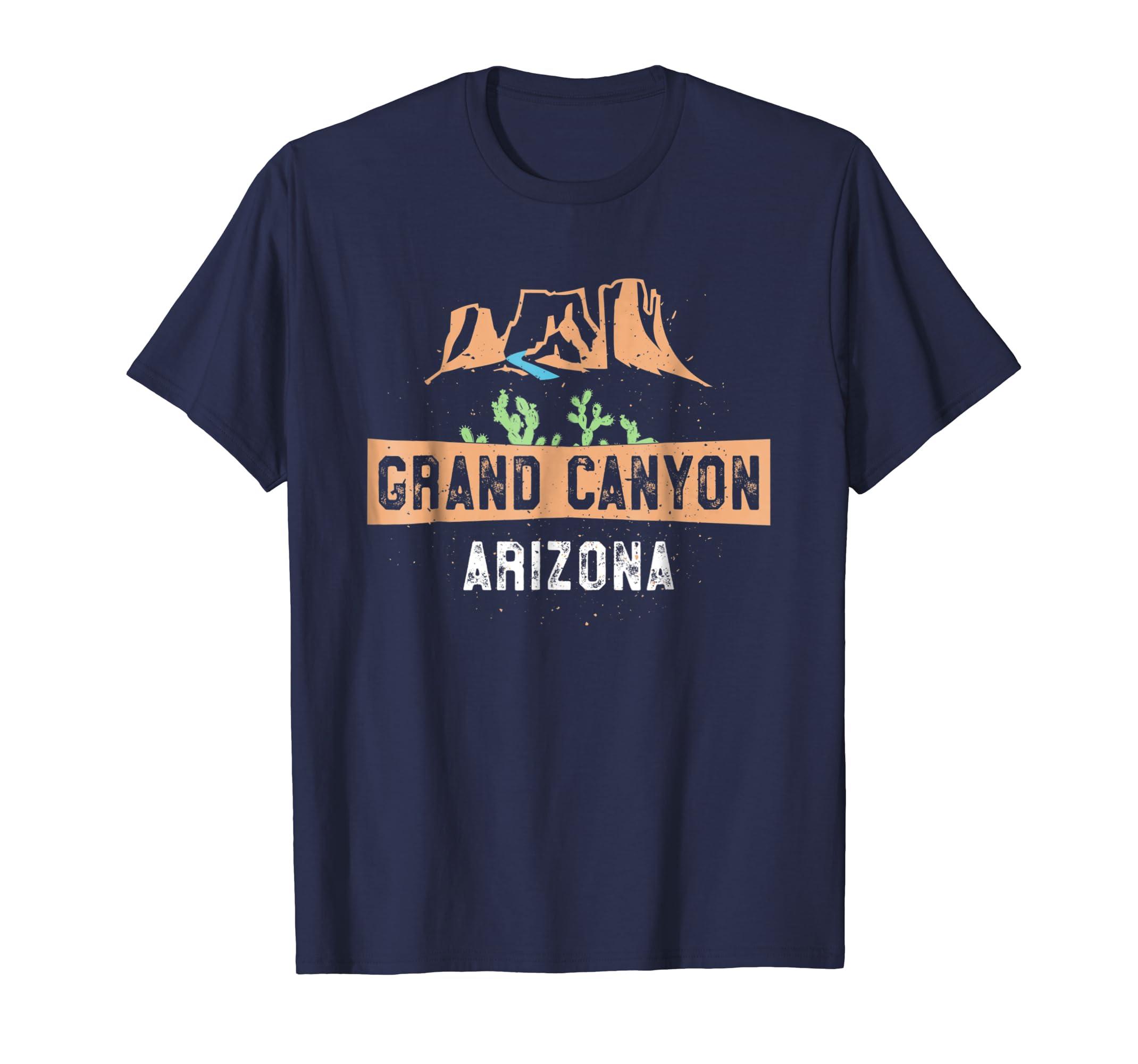 Amazon Com Grand Canyon Tshirt Arizona Cactus Canyon