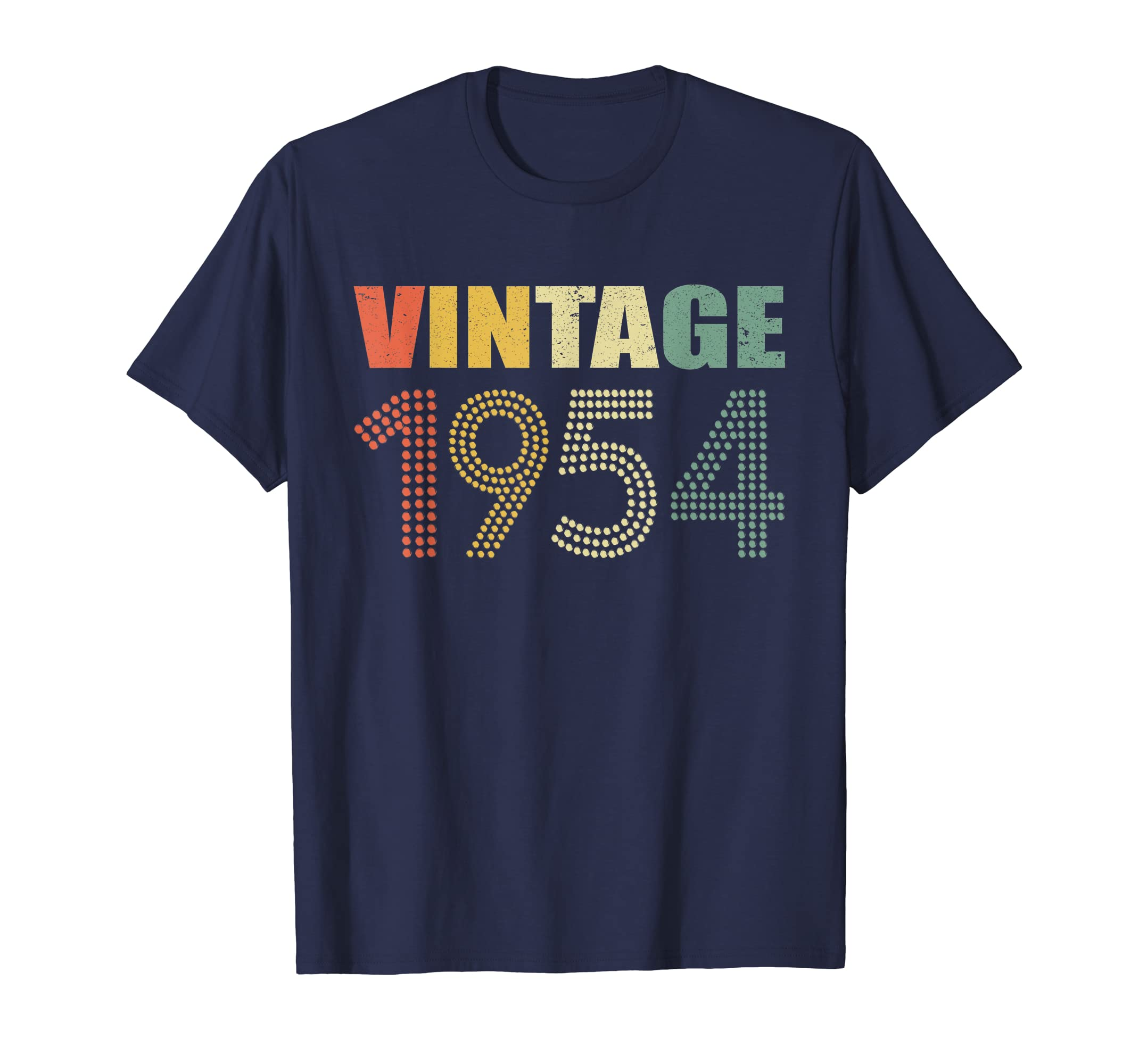 Amazon Retro Vintage 1954 T Shirt 65th Birthday Gifts 65 Years Old Clothing