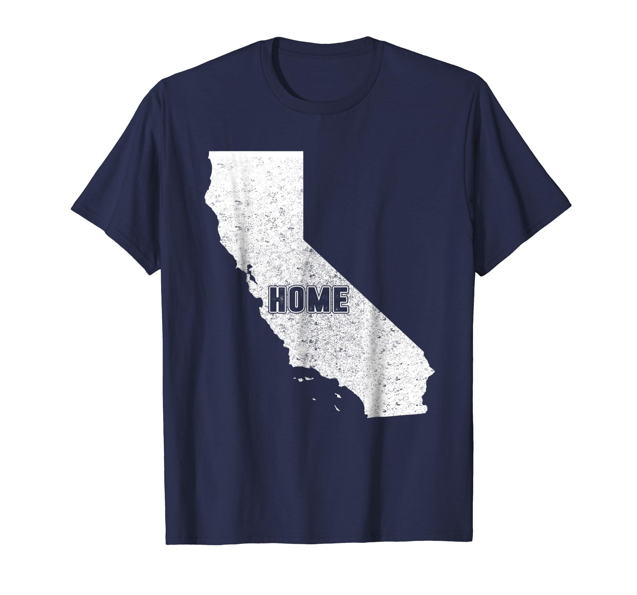 Amazon Com Cool California Home Map Shirt Men Women Gift T Shirt
