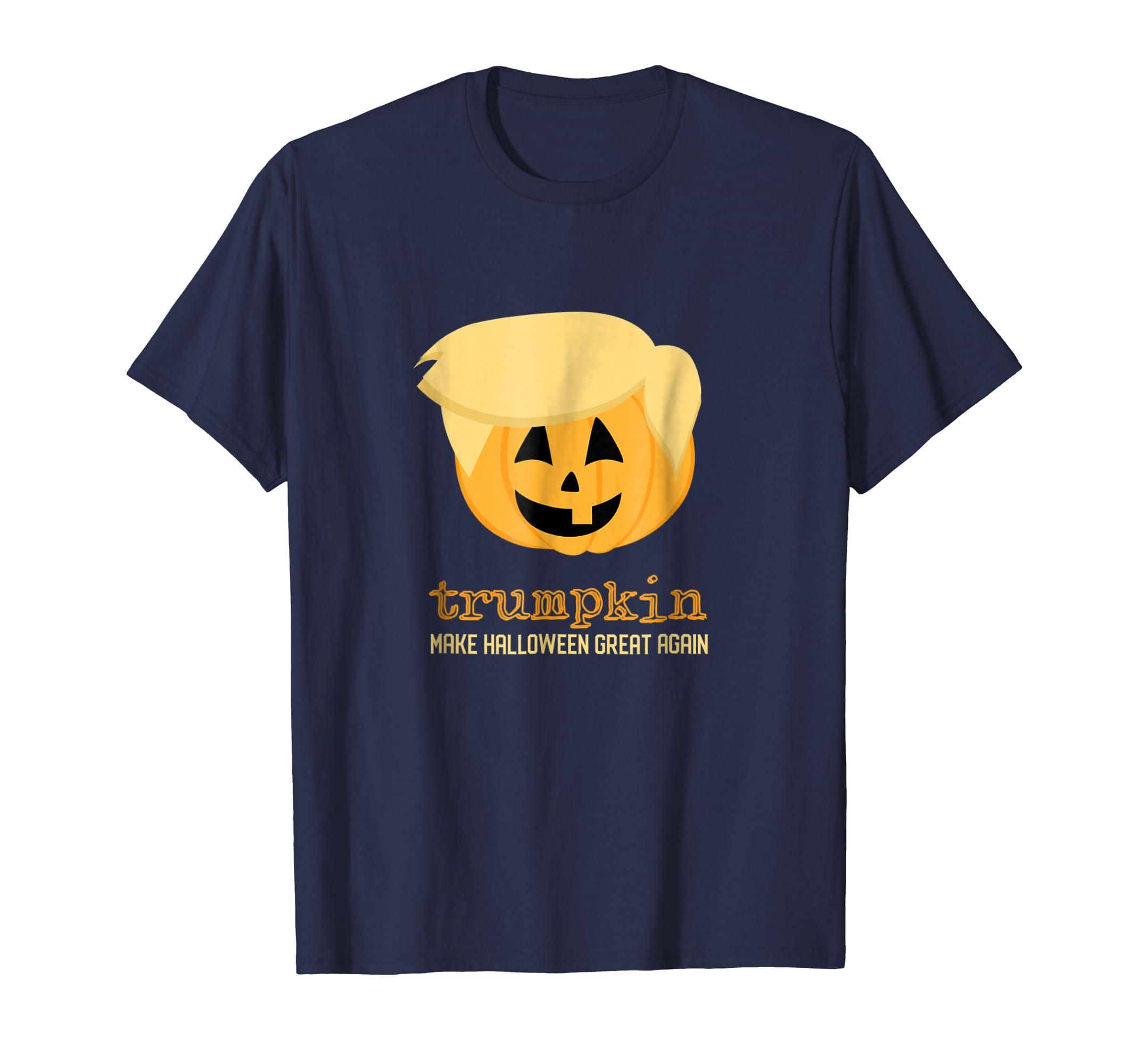 Adults Halloween Costume - Kids Funny Trumpkin Tees-Rose