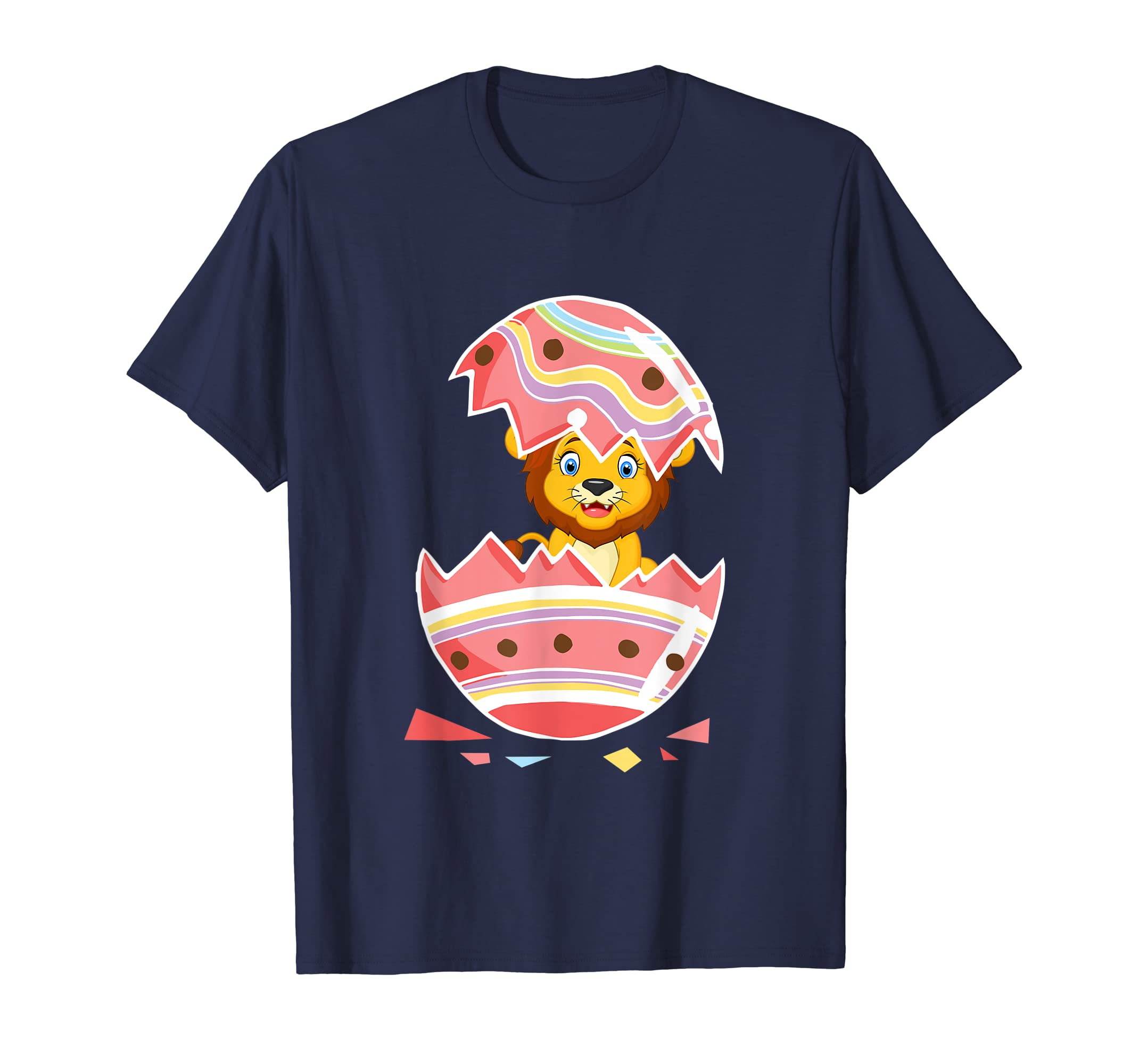 Lion Easter 2019 T Shirt Easter Lion in Egg Shirt-ANZ