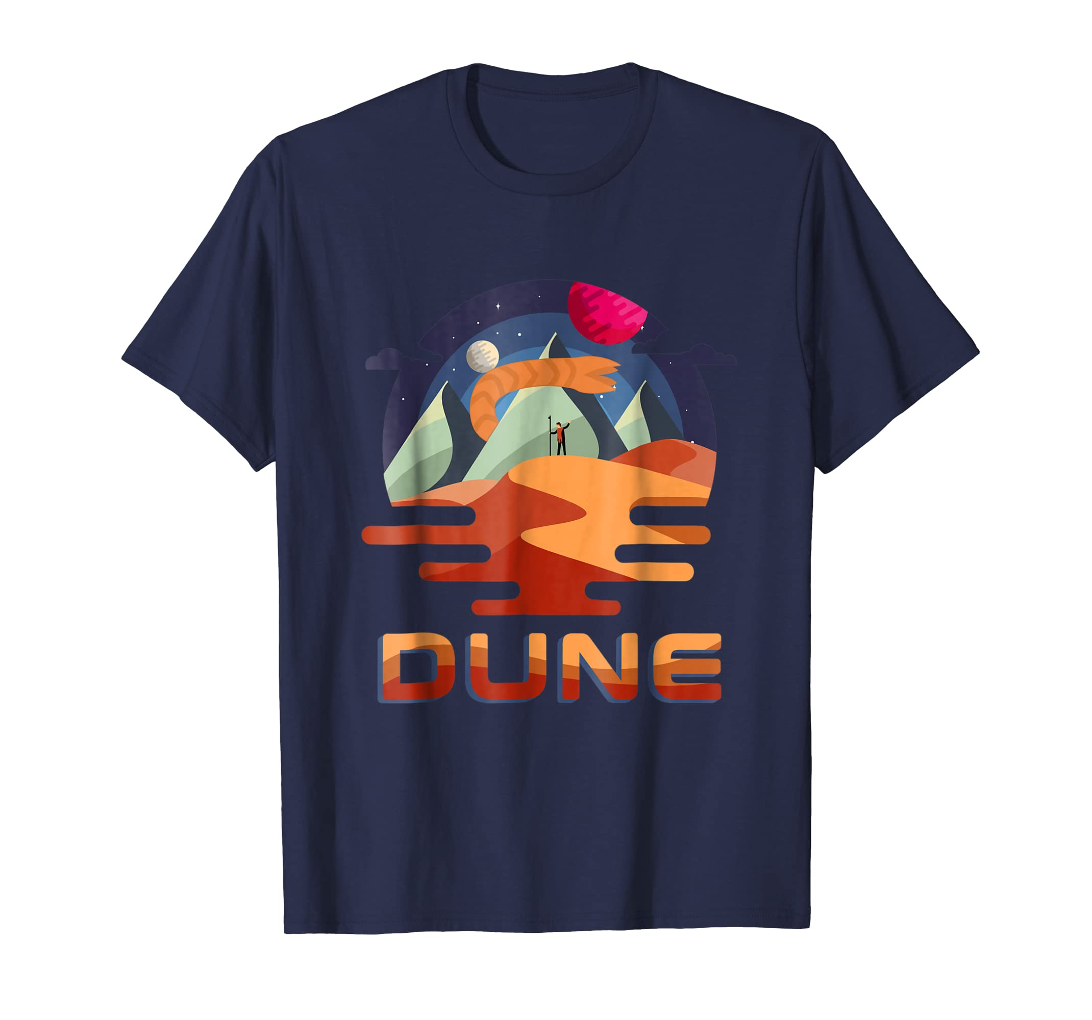 Dune Graphic Science Fiction Sci Fi Sand Work Arrakis Shirt-Teehay