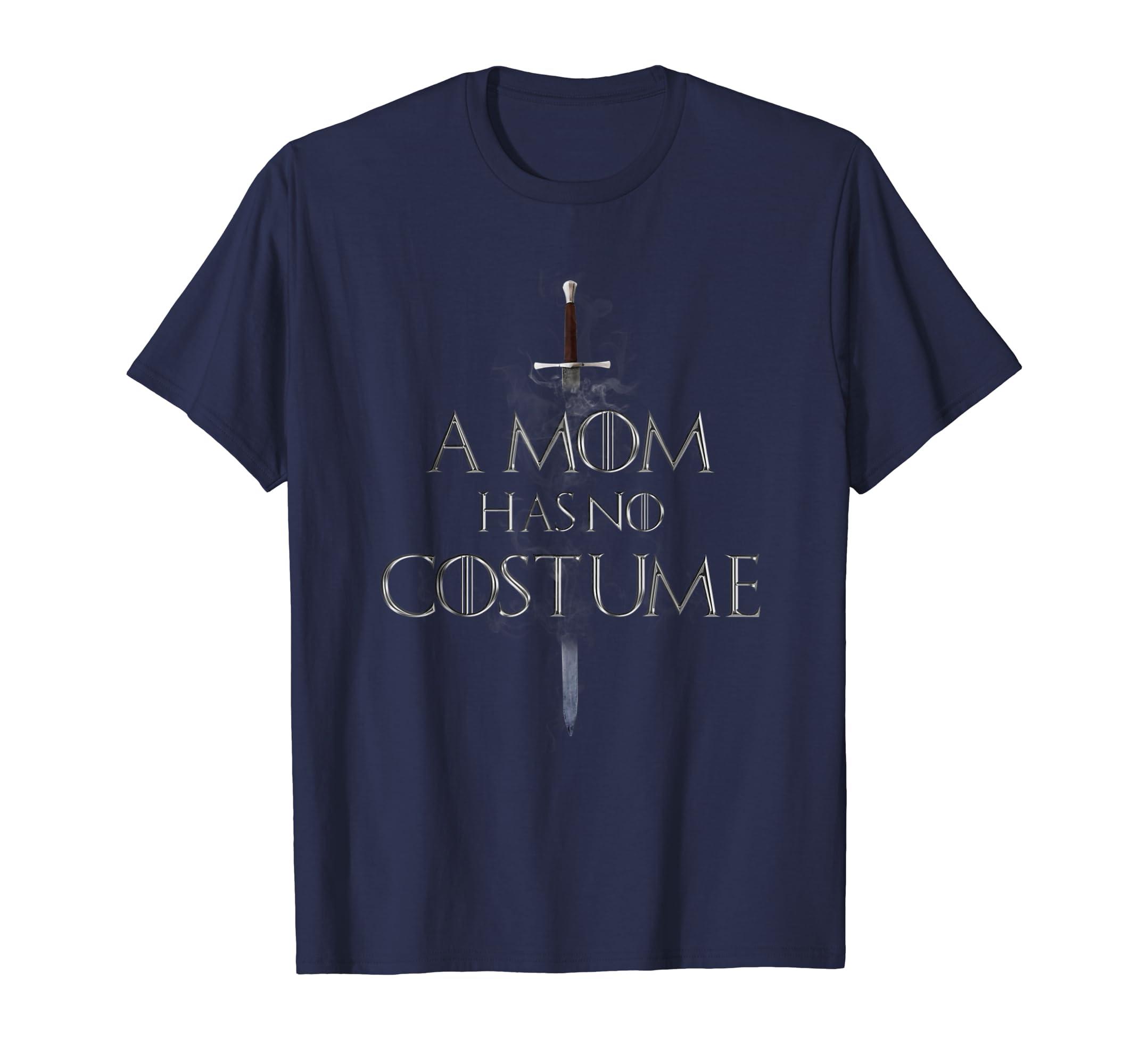 A Mom Has No Costume Halloween 2018 T Shirt-ln
