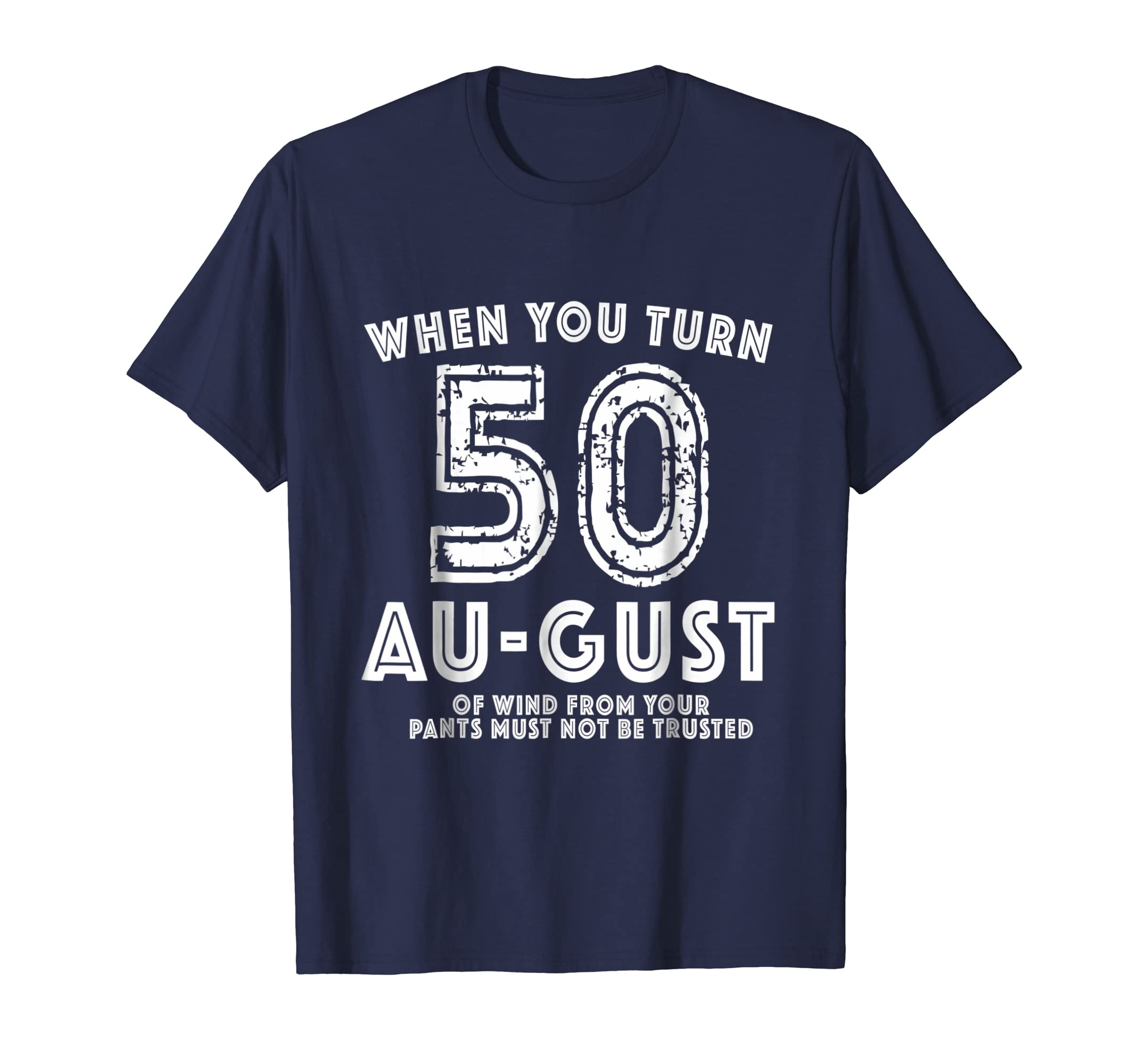 50th Bday Party Shirt - Funny August 50th Birthday Gag Gift-Rose