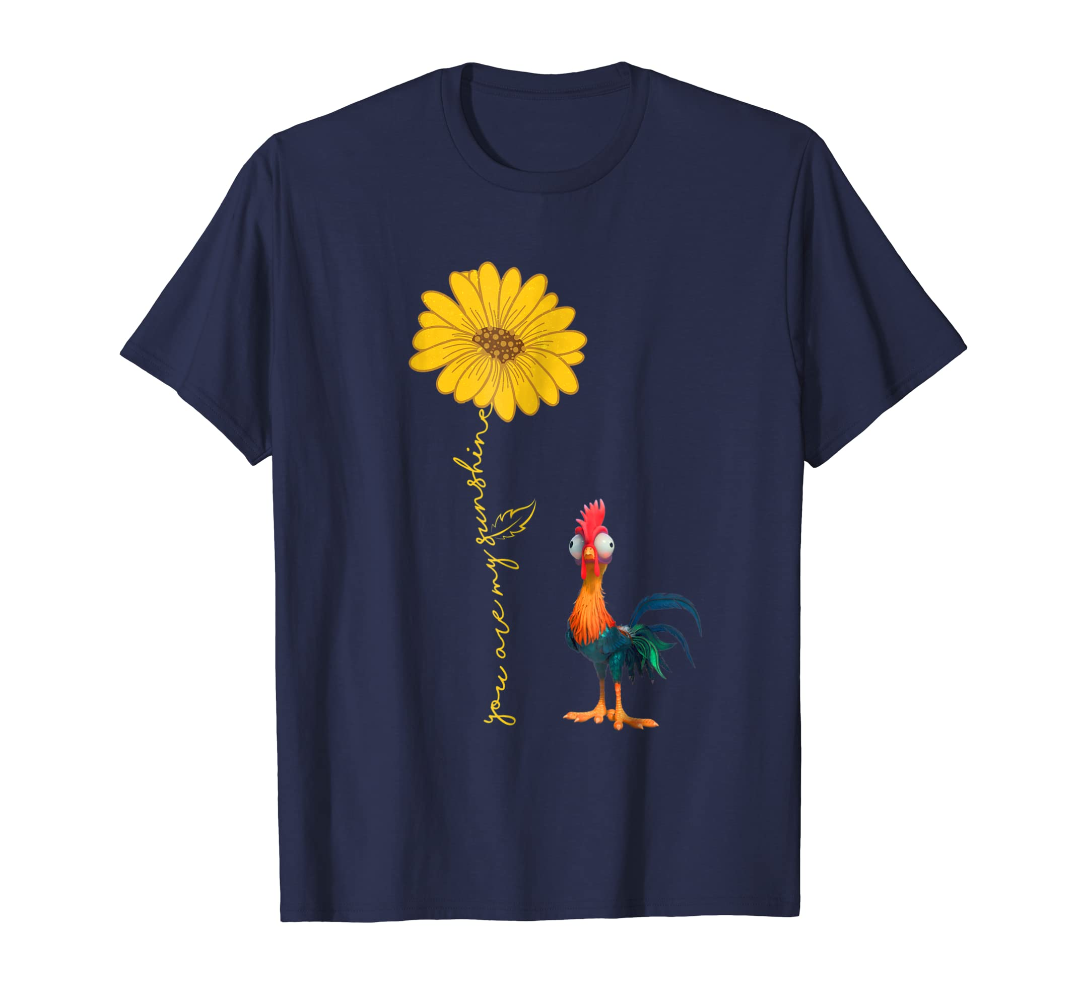 You Are My Sunshine For Chicken Lover T Shirt-azvn
