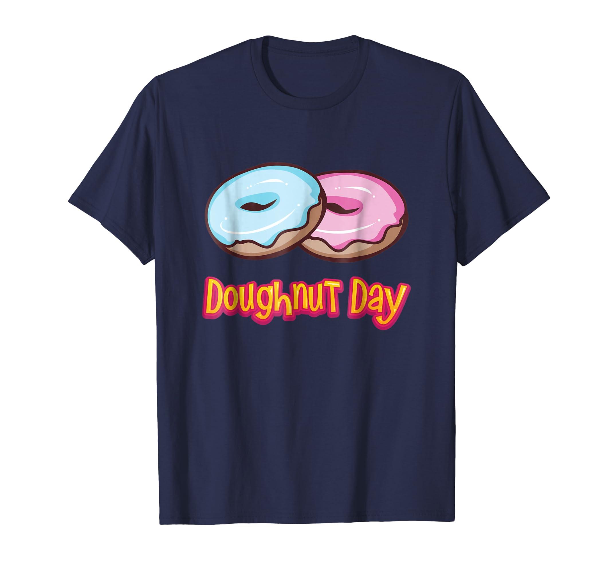 'Doughnut Day' Sweet National Doughnut Day Food Shirt-AZP