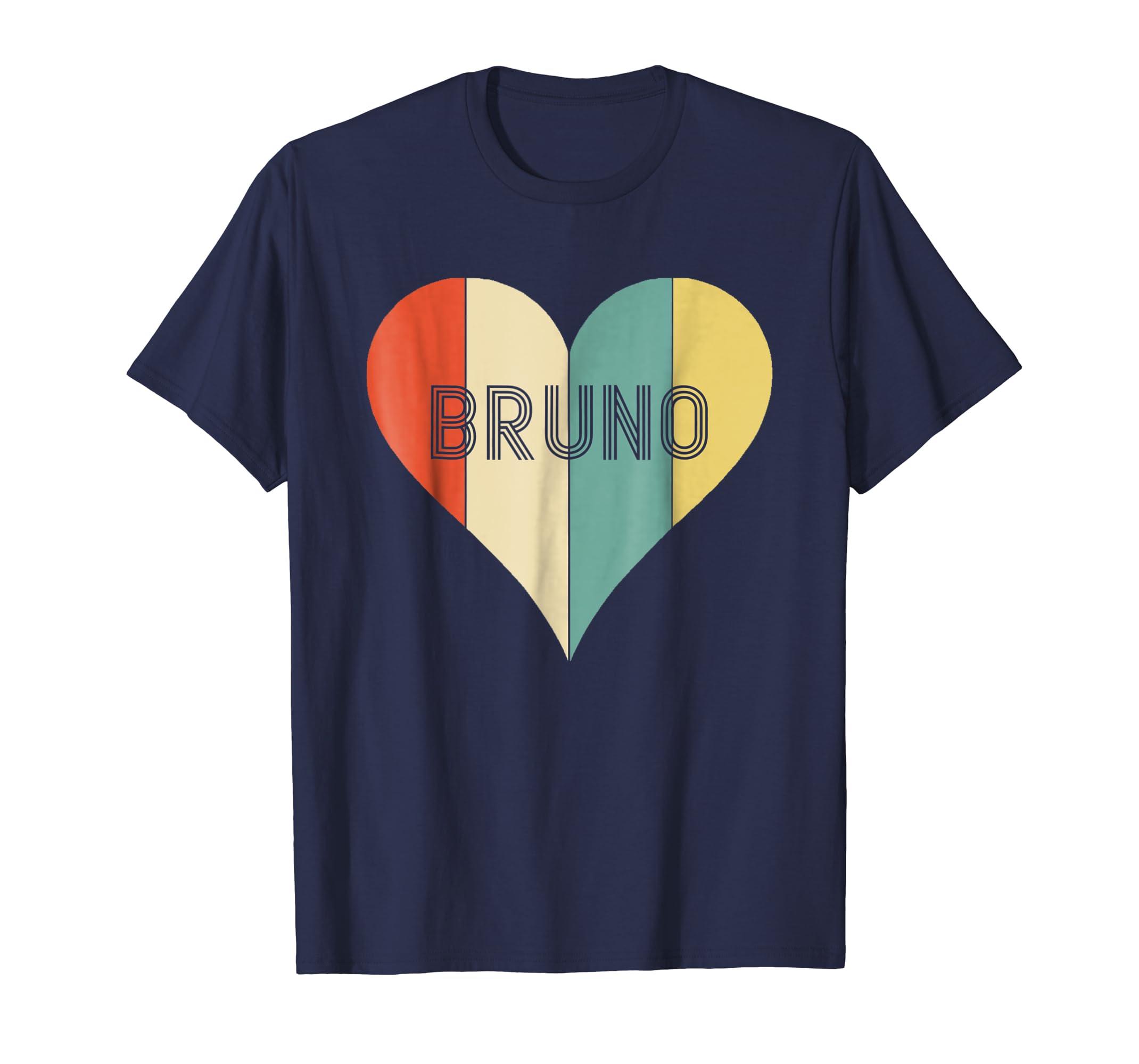 Bruno Lover Heart Shirt Magic Style-azvn