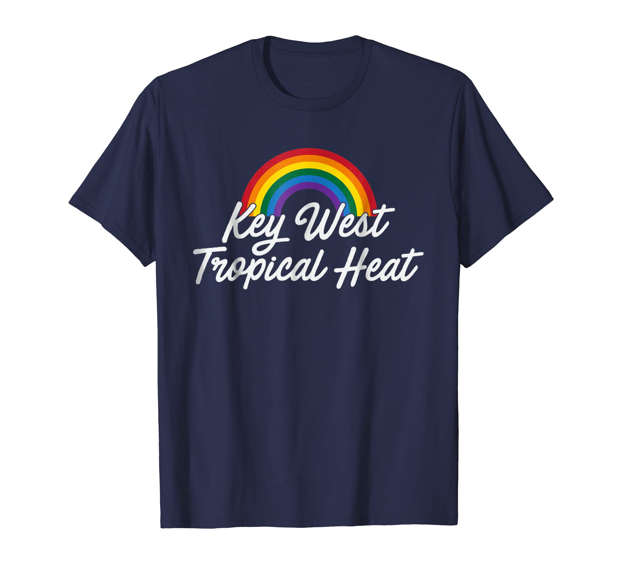 Amazon.com: Key West Tropical Heat Pride Gay Pride Shirt(gay flag shirt): Clothing