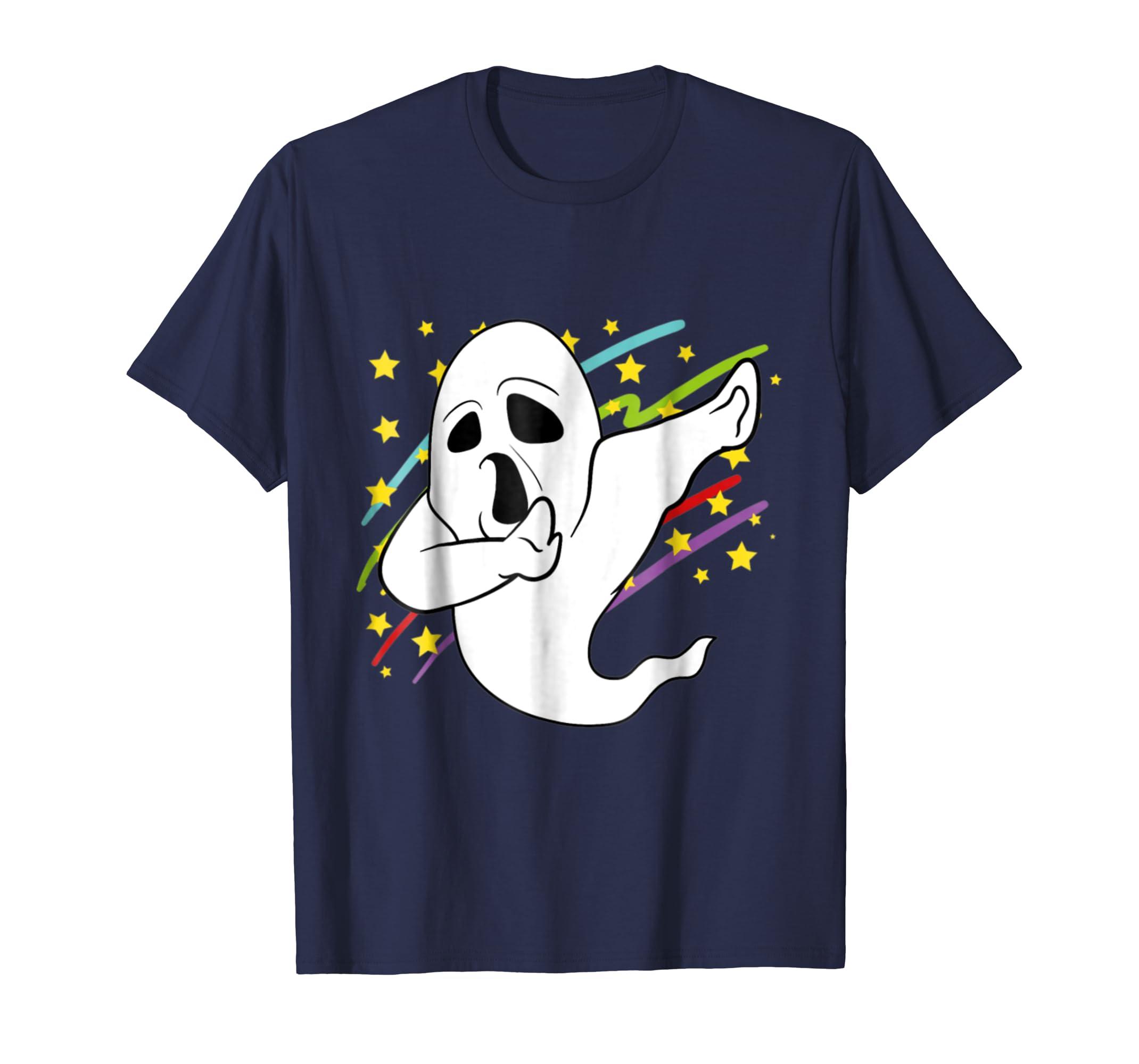 Dabbing Dab Ghost Halloween Disco Party Music shirt