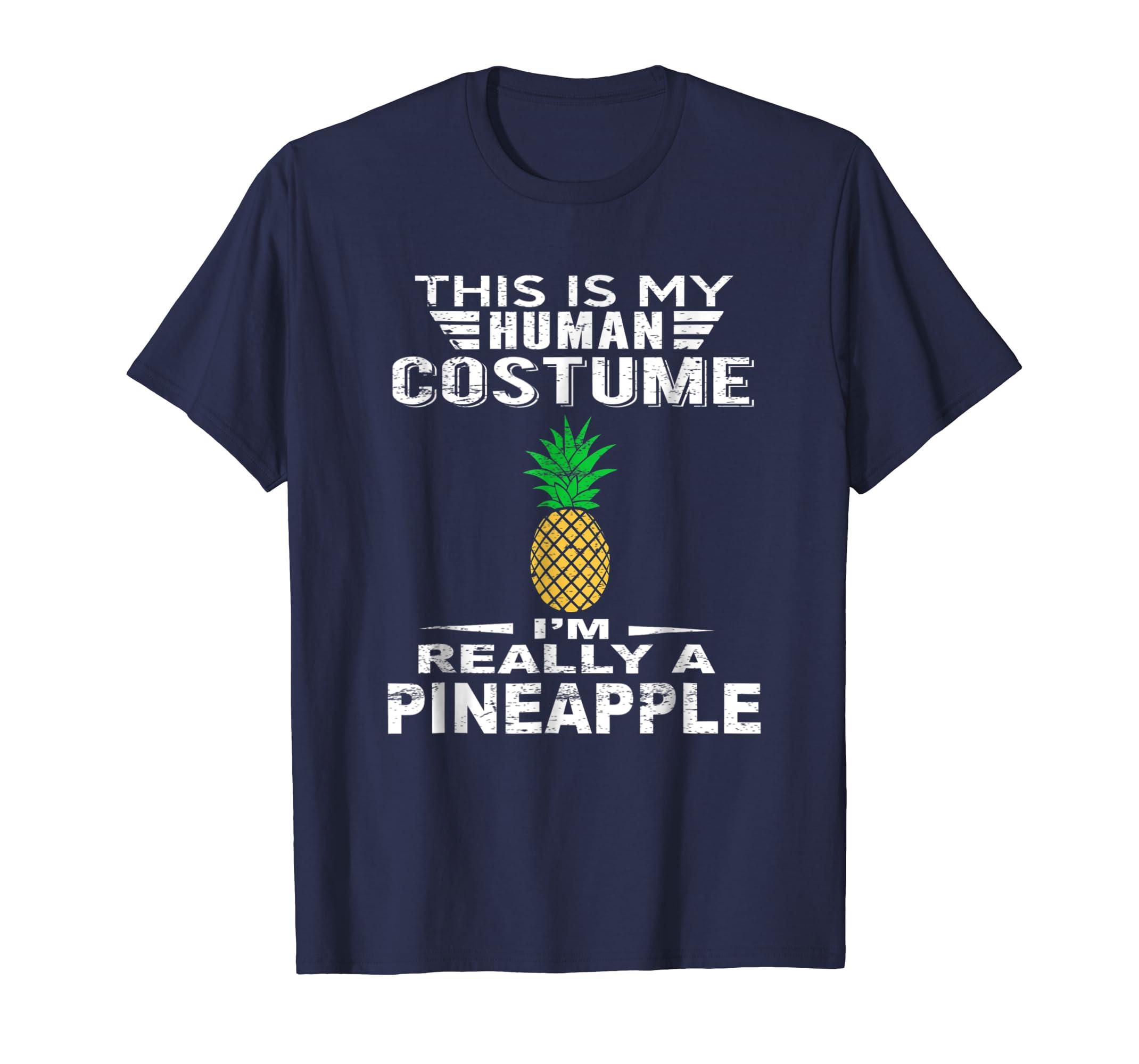 Super Halloween Costume Pineapple Tshirt Heart Kids Adults-ANZ
