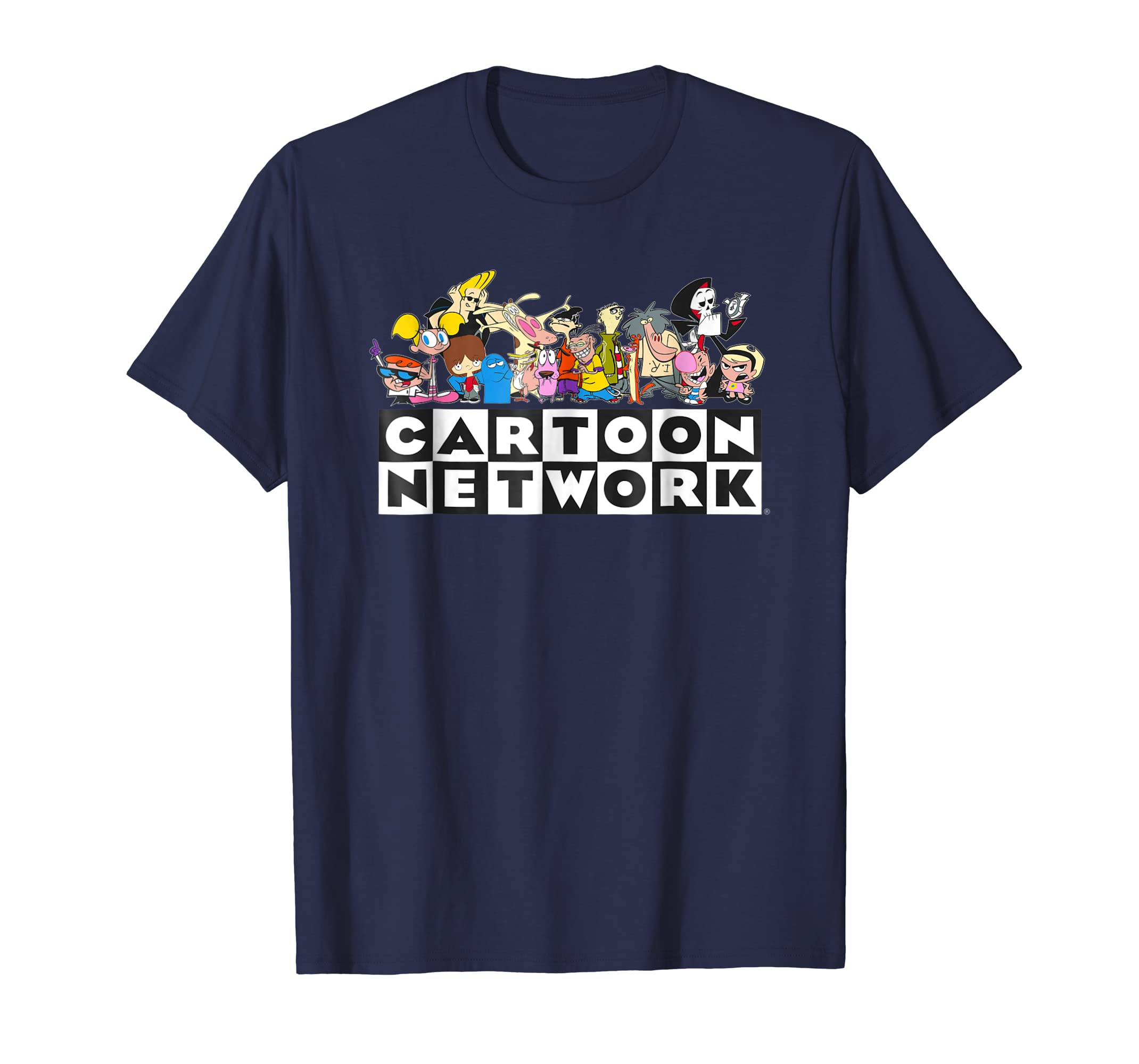 Cartoon Network Classic Character Feature T-Shirt-Yolotee