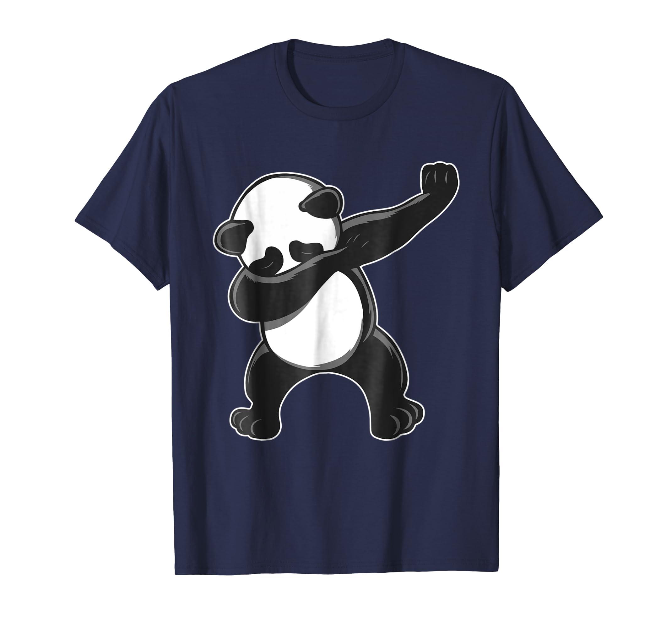b61e8e406 Amazon.com: Funny Panda Dab Shirt - Dabbing Panda T-Shirt - Panda Tee:  Clothing