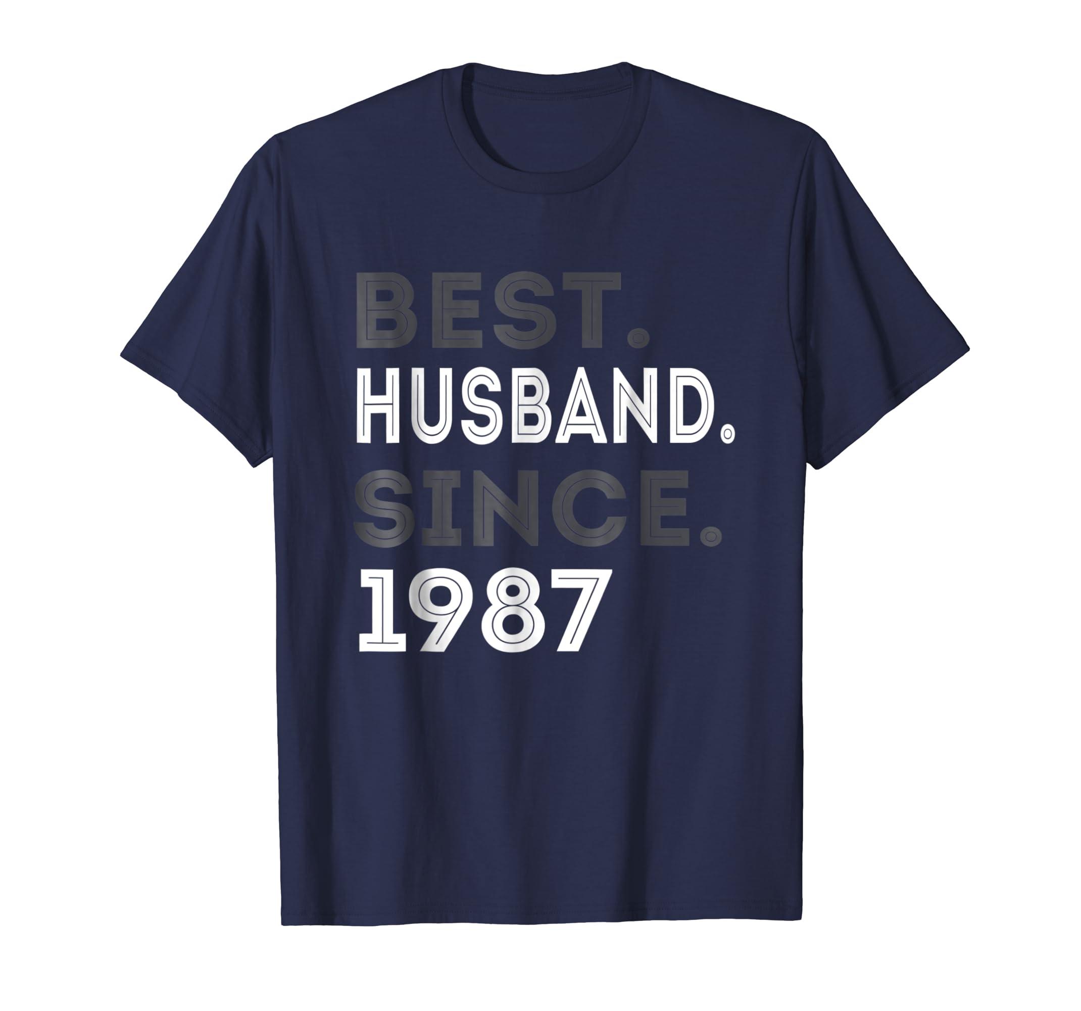 Best Husband Since 1987 32nd Wedding Anniversary Gift-azvn