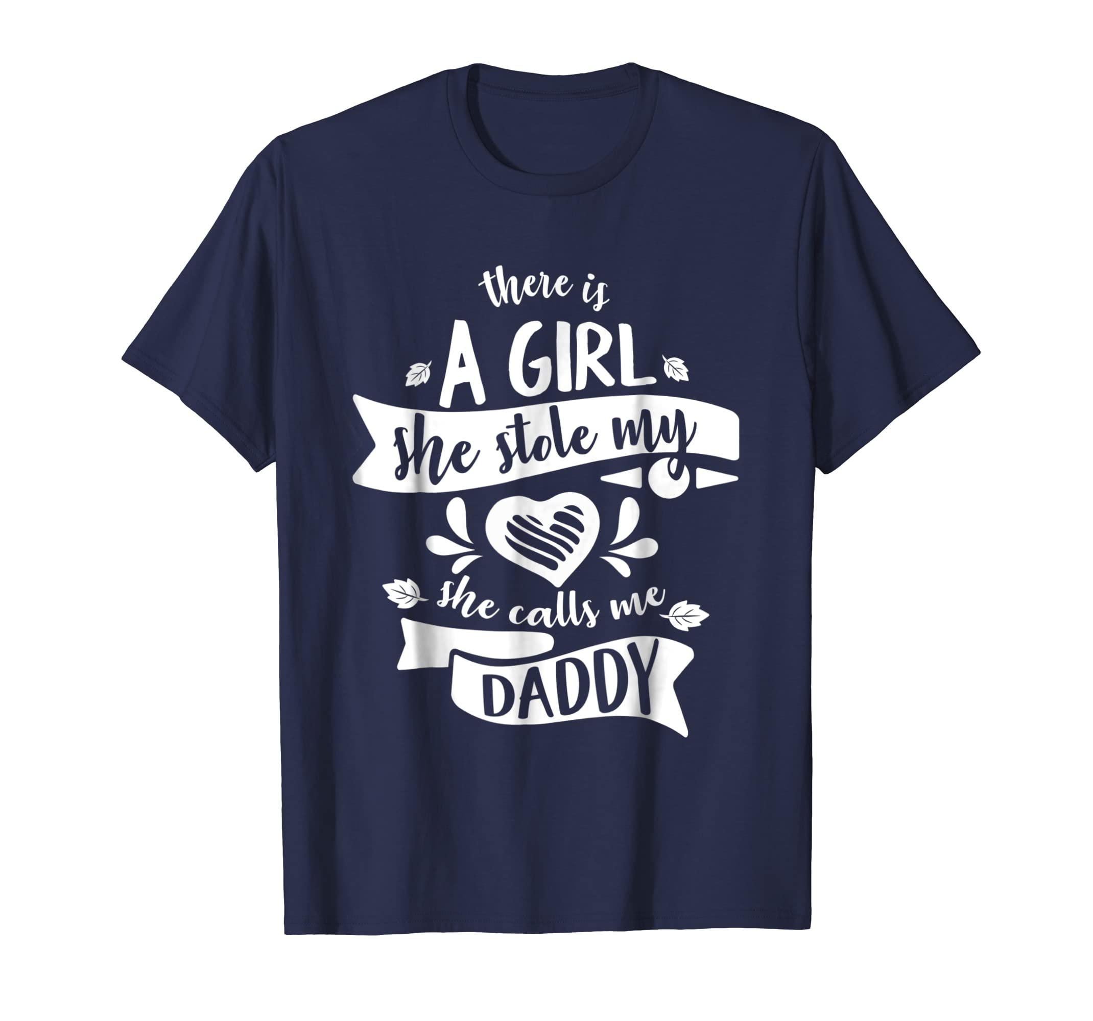 A Girl stole my hear call me Daddy Funny Fathers Day shirt- TPT