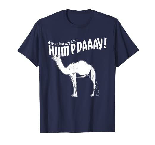 cda4892c Image Unavailable. Image not available for. Color: Hump Day Camel Funny  T-Shirt