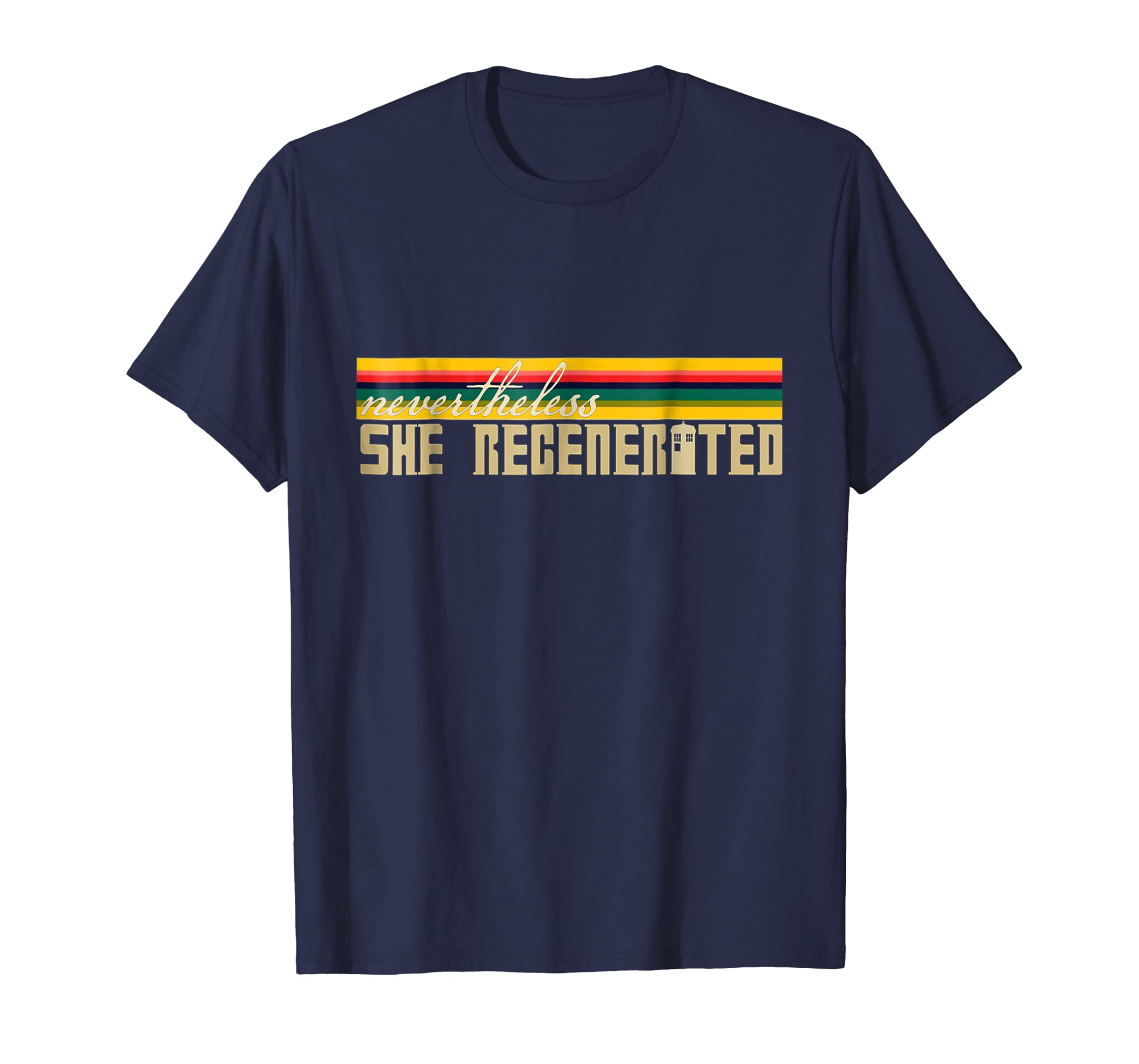 _13th Doctor Who Nevertheless She_Regenerated Gift shirt-azvn