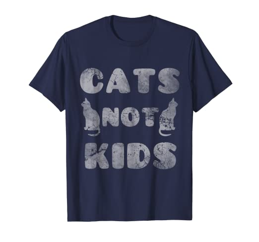 c54d3bf7 Image Unavailable. Image not available for. Color: Cats Not Kids Funny  Quotes Cat Humor Sayings Gift