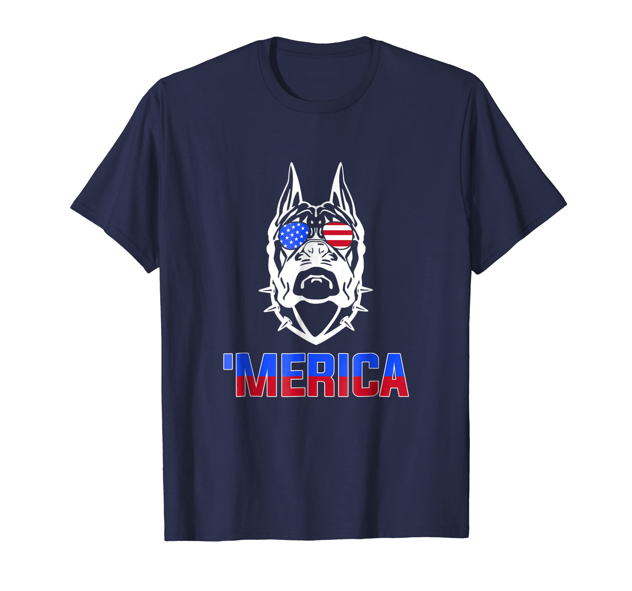 'Merica Boxer American 4th of July Independence Day Shirt- TPT