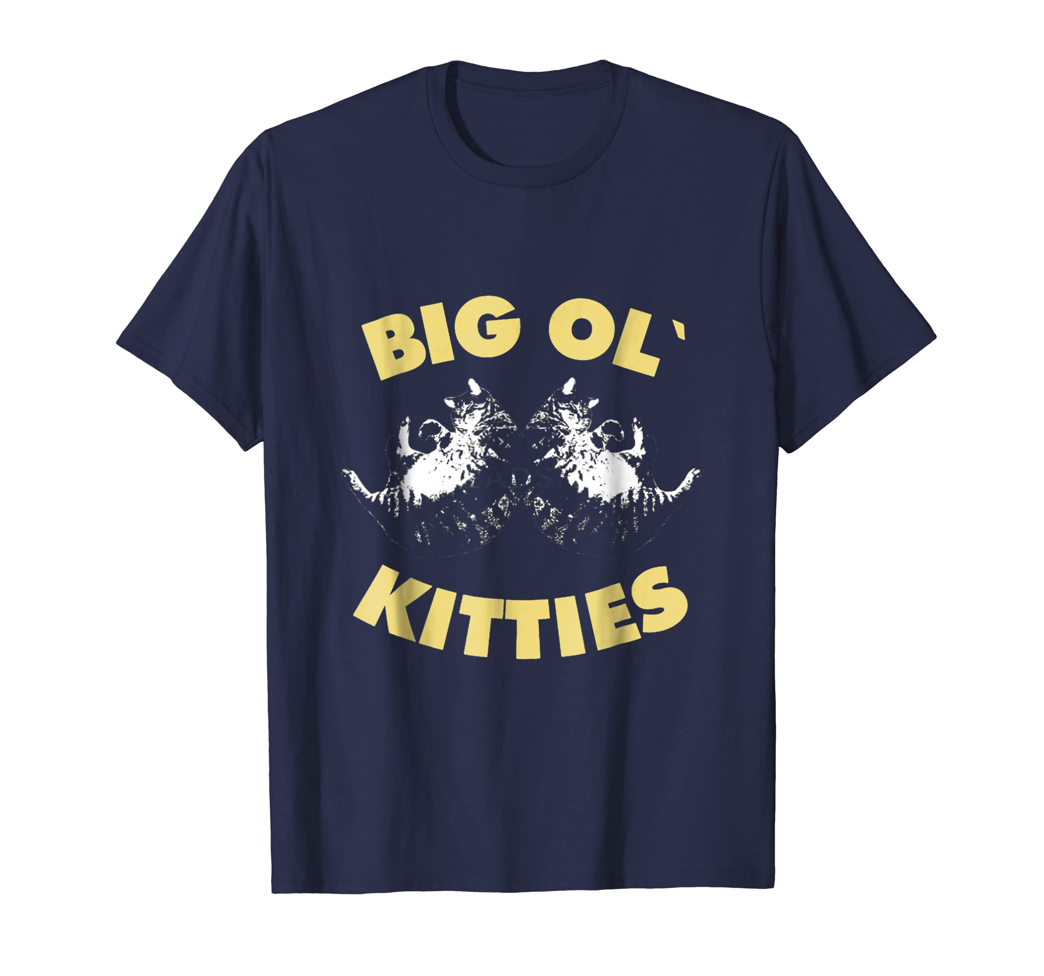 Big ol Kitties Shirt Funny Cat Lover T Shirt-Teechatpro
