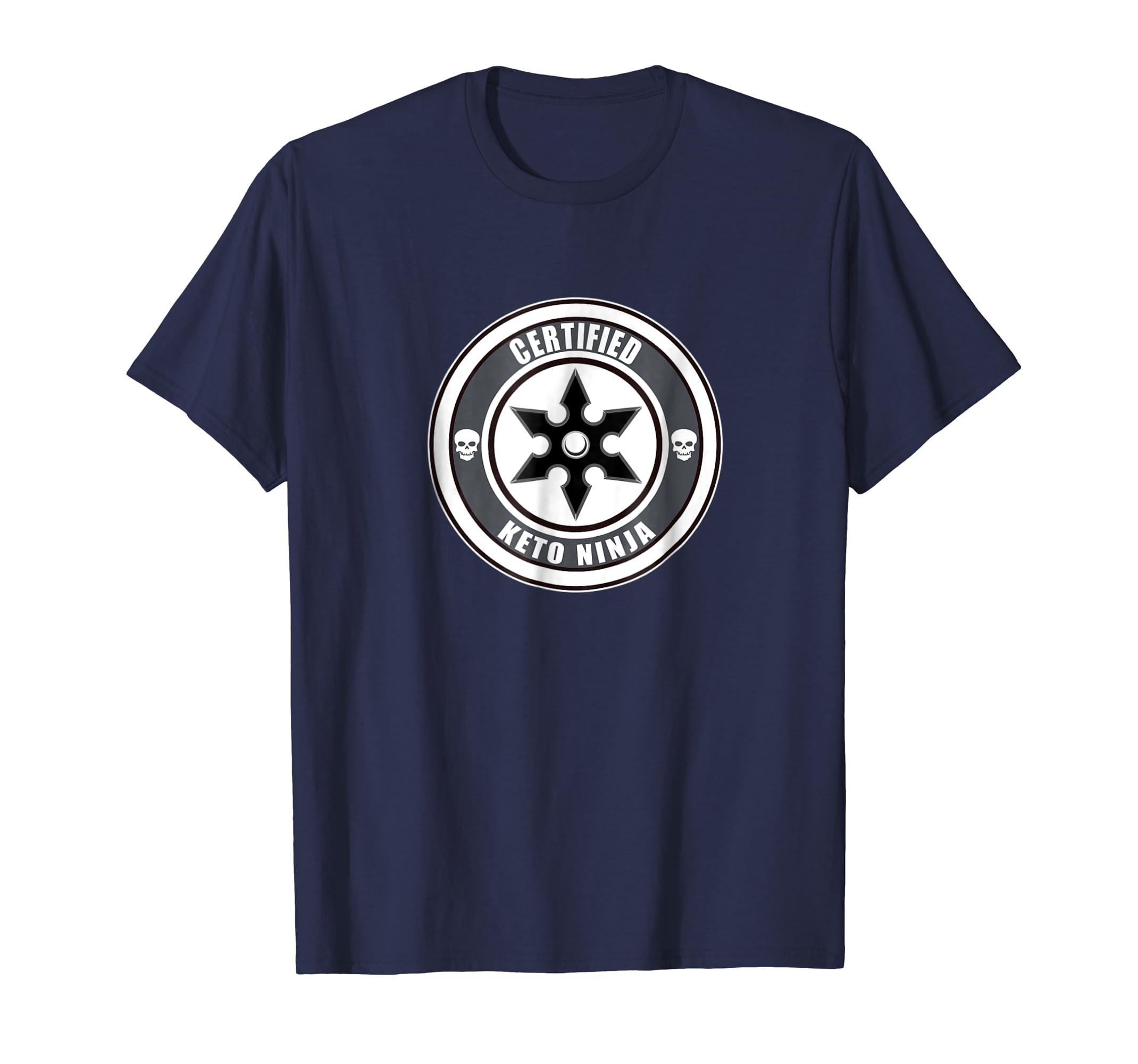 Amazon.com: Keto TShirt Certified Keto Ninja Shirt: Clothing