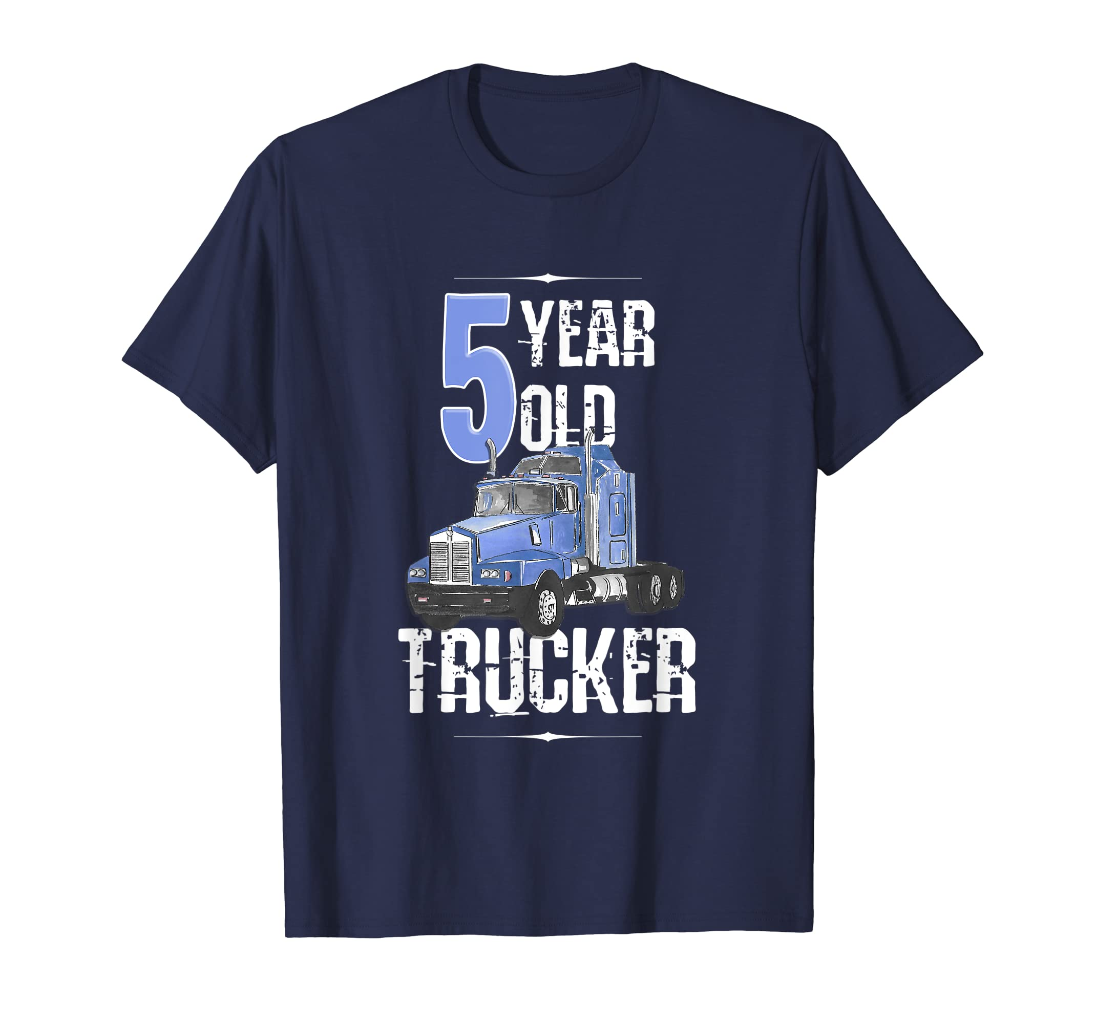 Amazon 5th Birthday Shirt 5 Boy Year Old Kids Toddler Truck T Clothing