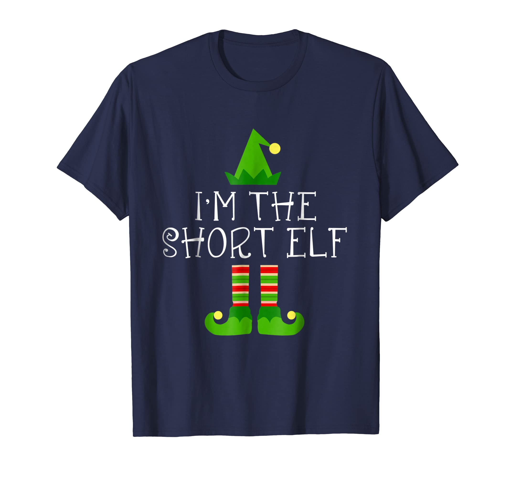 I am The Short Elf Matching Family Group Christmas Shirt-azvn