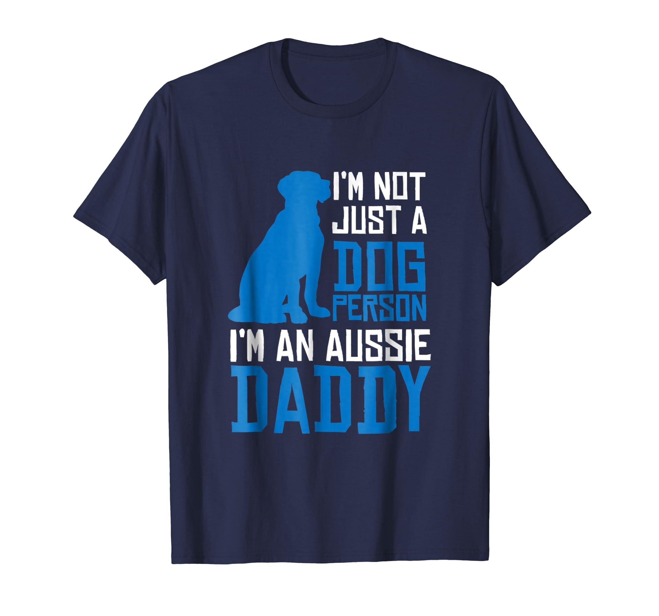 Australian Shepherd Dad Shirt for Aussie Shepard Gifts-AZP