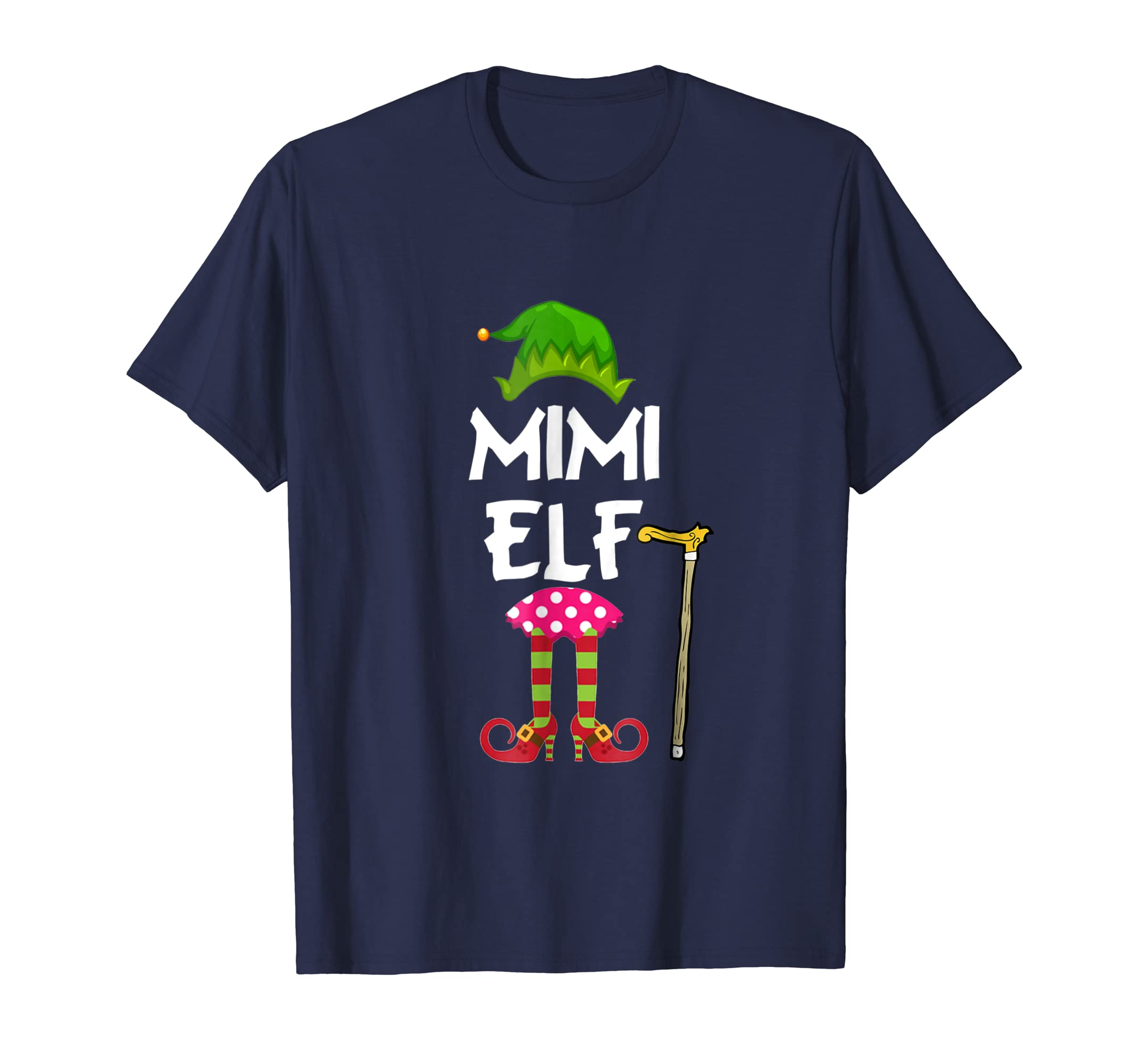 I'm Mimi Elf Funny T shirt Family Christmas-azvn