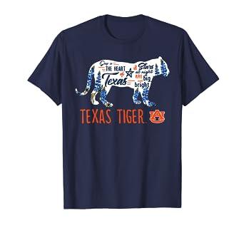 d5211e729 Amazon.com: Auburn Tigers Texas In Tiger T-Shirt - Apparel: Clothing