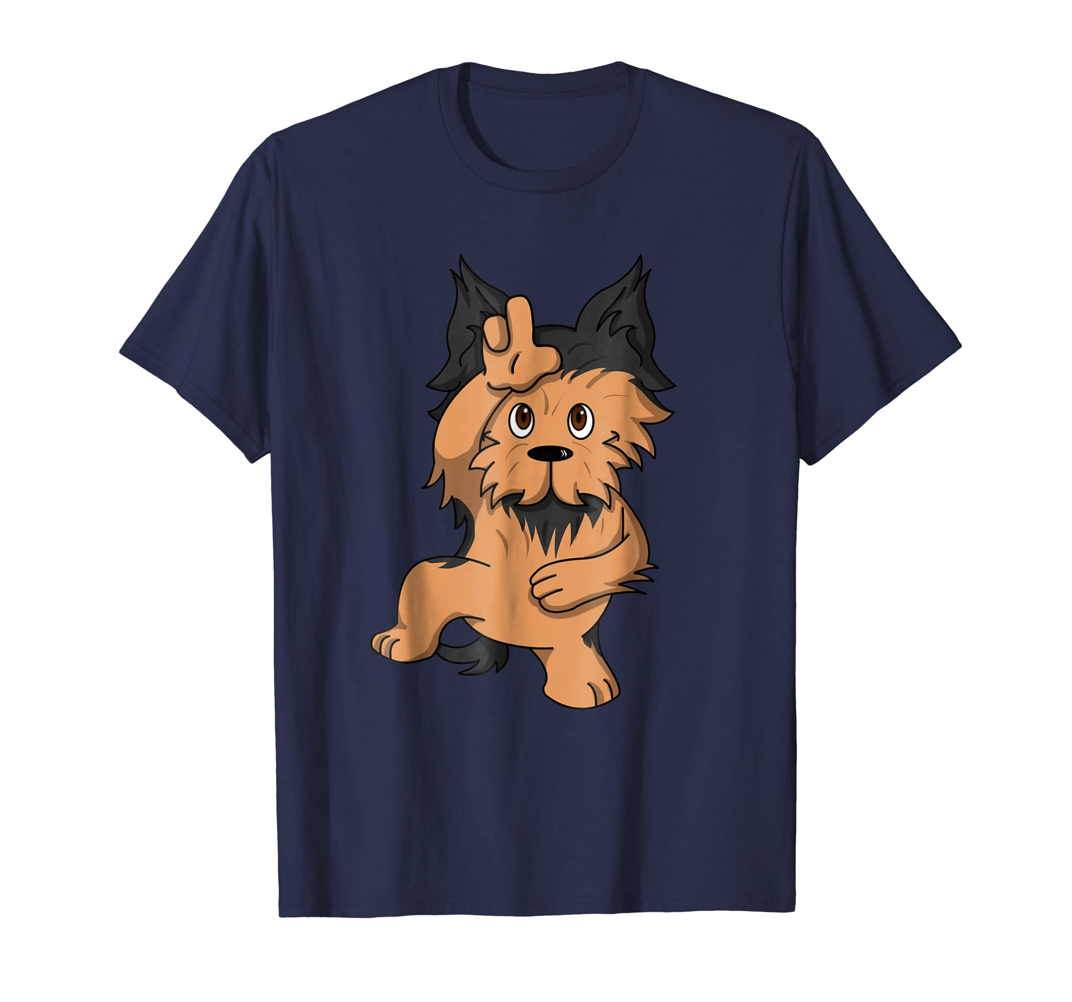 Yorkshire Terrier Take The L Dance Loser Move T Shirt-ln
