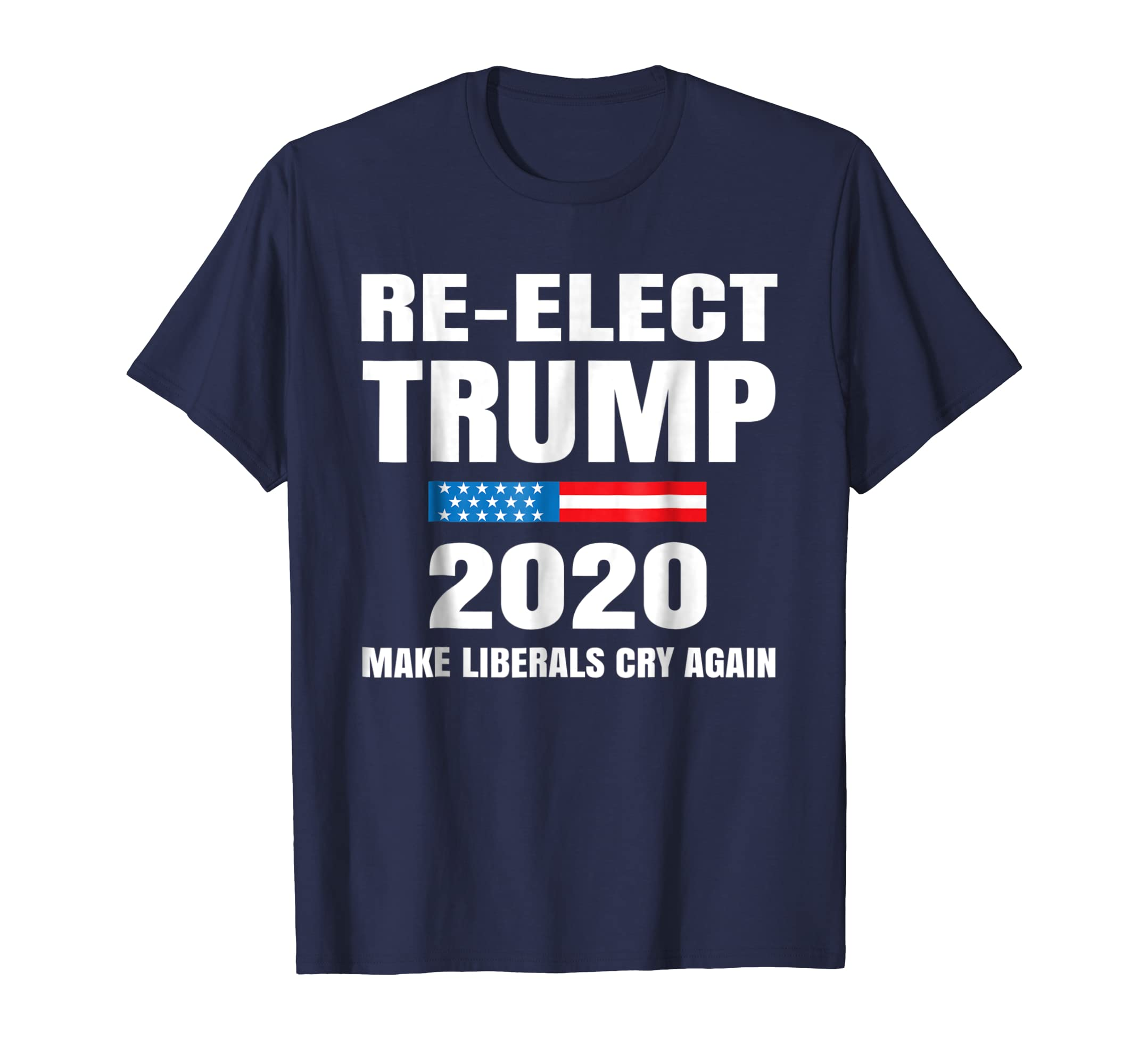 Donald Trump Election 2020 Make Liberals Cry Again T Shirt-azvn