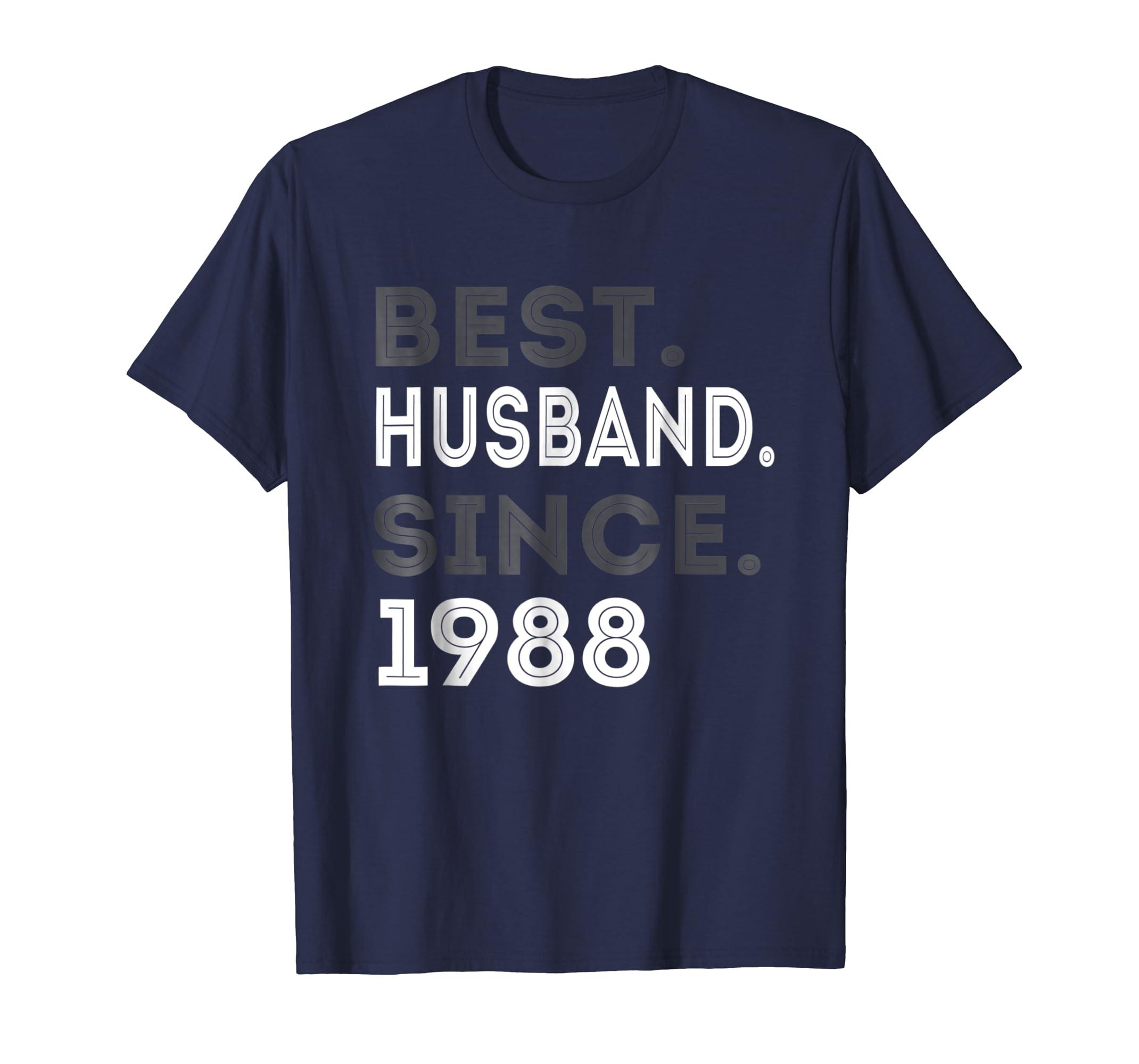Best Husband Since 1988 31st Wedding Anniversary Gift-azvn