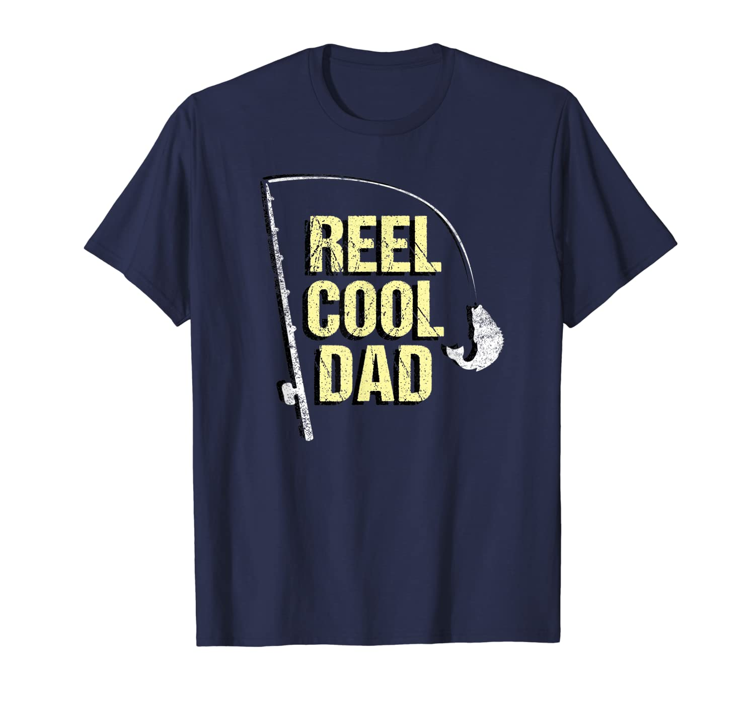 e4bb5c20 Amazon.com: Cool Fishing Dad Shirt Funny Fathers Day Gift for Fisherman:  Clothing