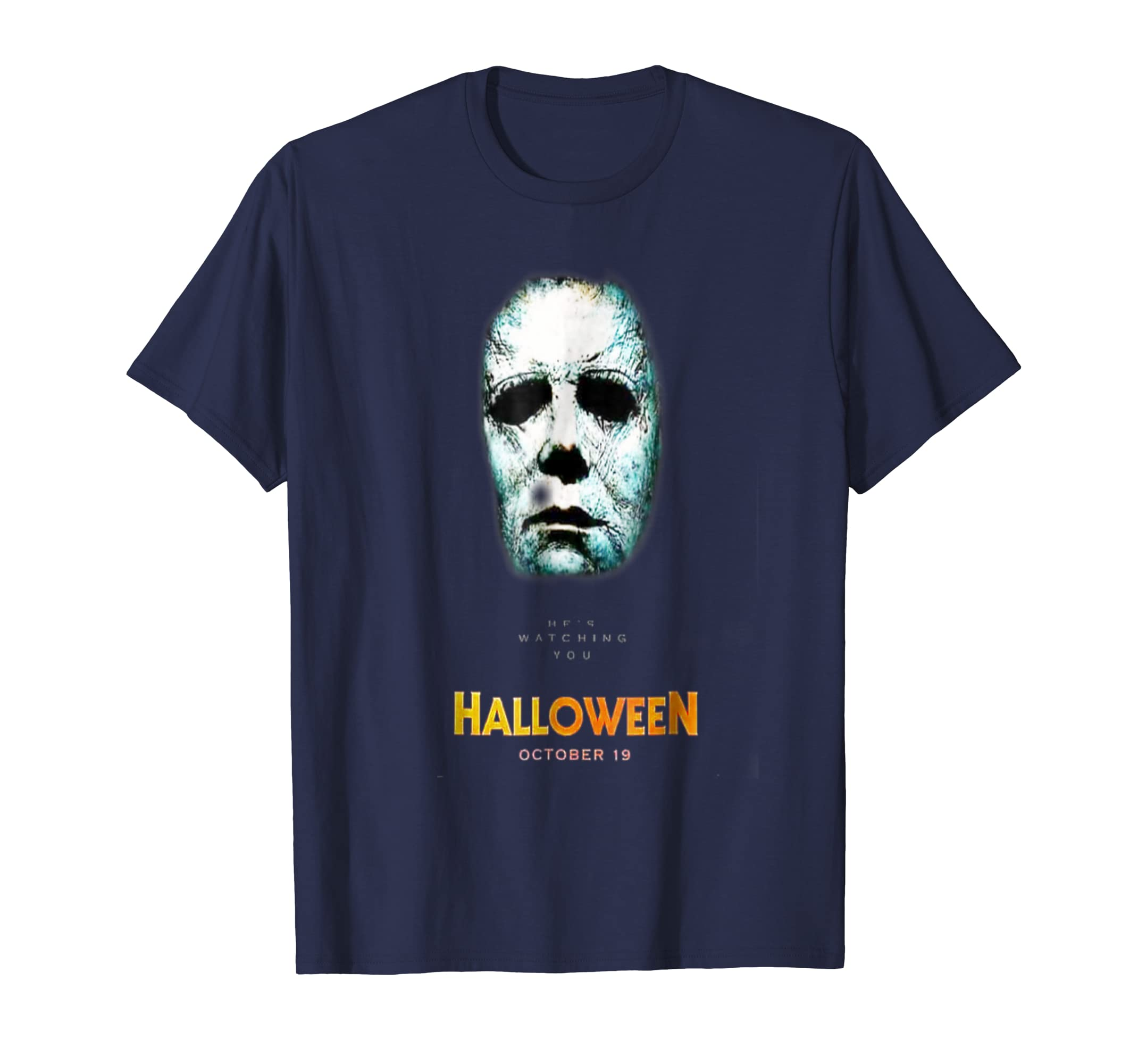 Halloween 2018 T-Shirt | Michael Myerz scary face T-shirt-Rose
