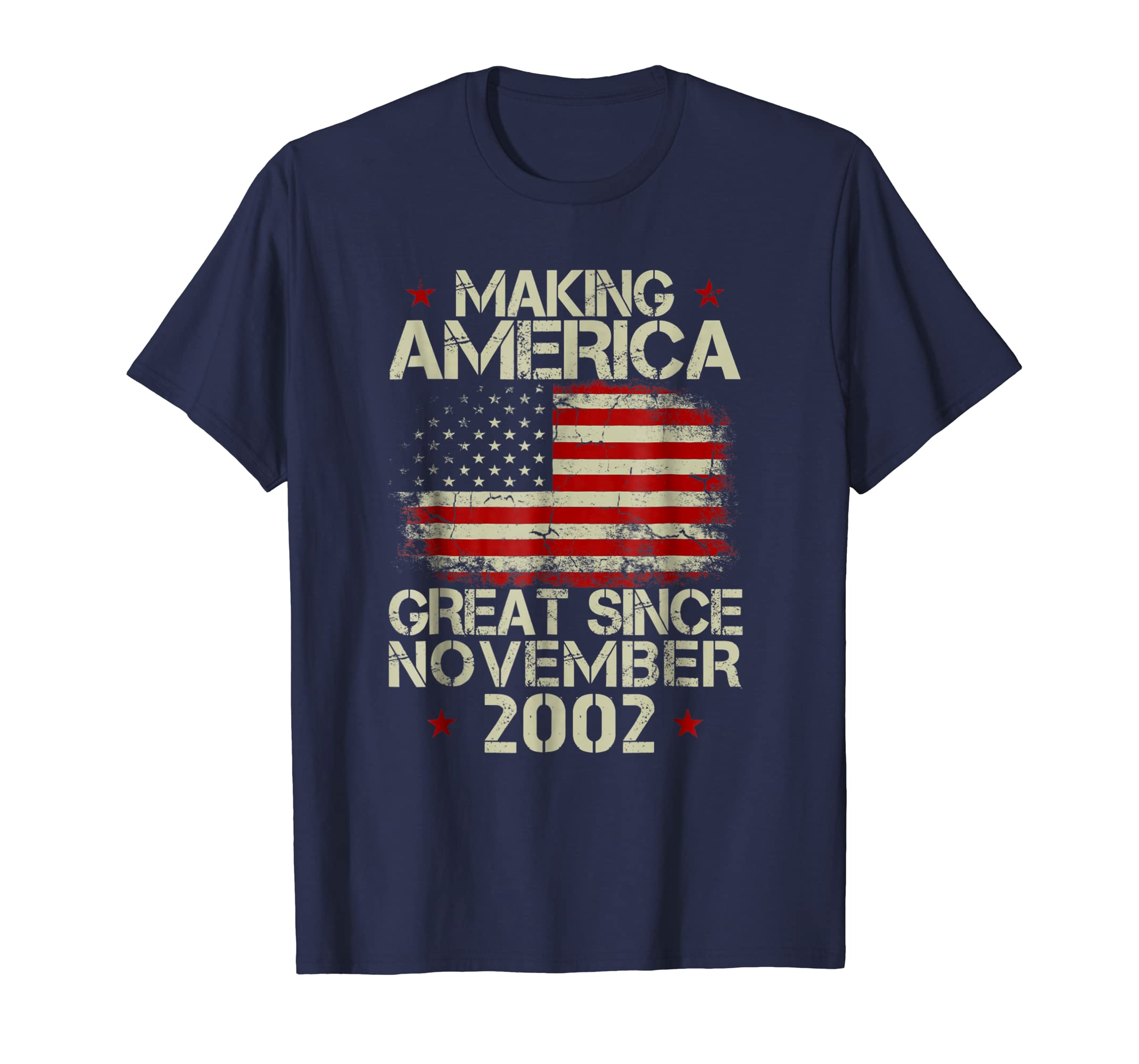 16th Birthday Making America Great Since November 2002 Shirt-azvn