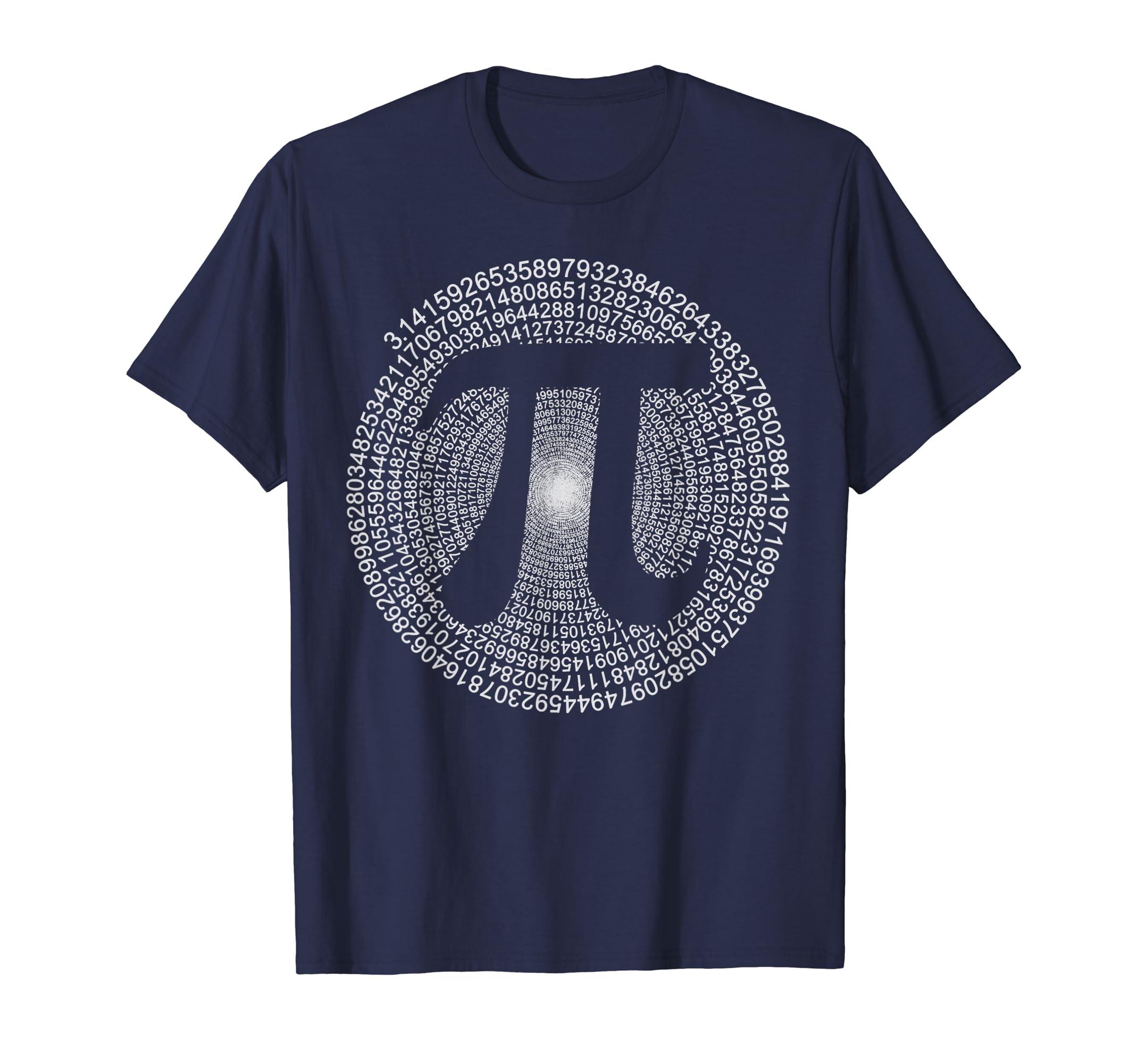 9e8608423 Pi T-Shirt 3,14 Pi Number Symbol Math Science Gift: Amazon.co.uk: Clothing
