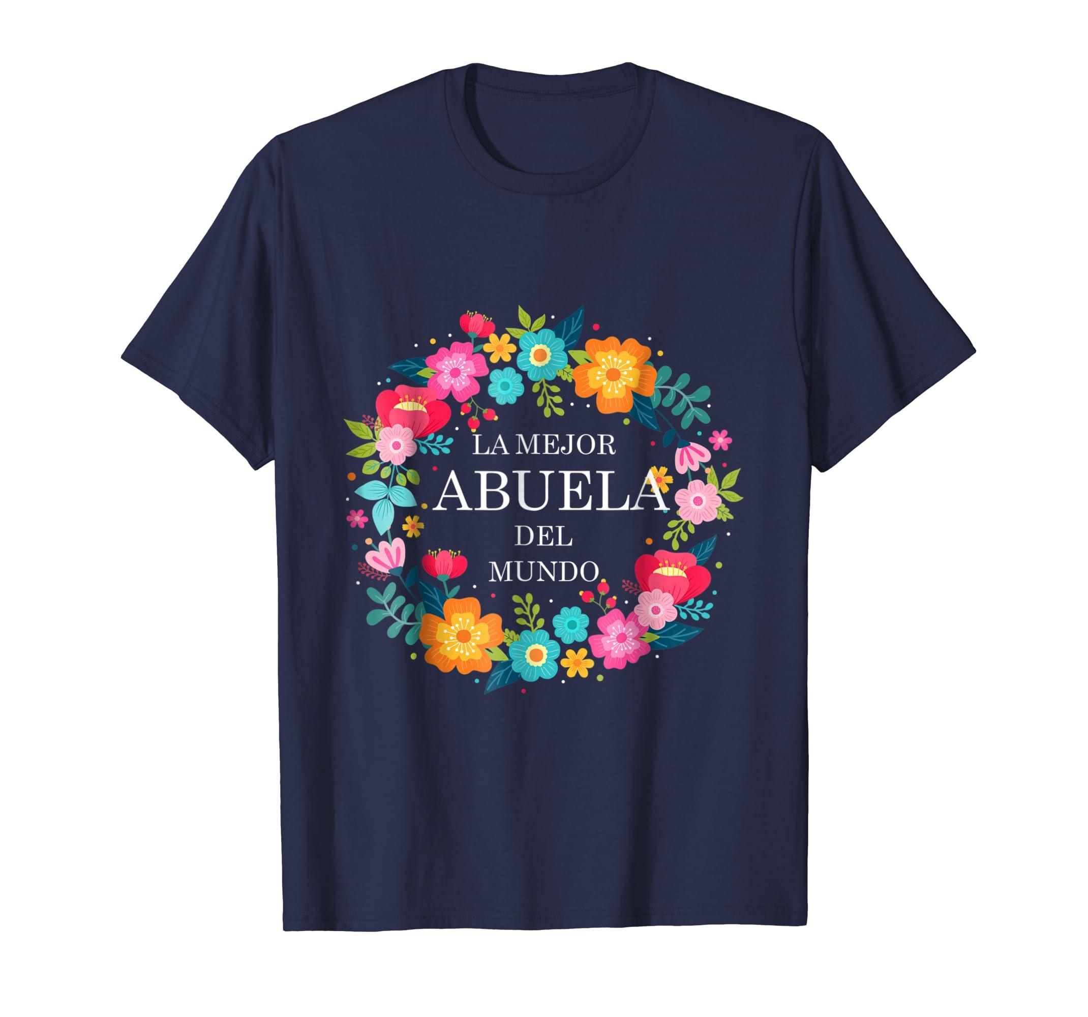 Dia de las Madres ABUELA Dia de Mama madre Shirt regalo gift-Awarplus