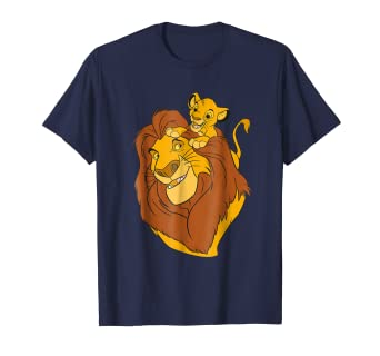 1f843428 Image Unavailable. Image not available for. Color: Disney The Lion King  Simba and Mufasa Father and Son T-Shirt