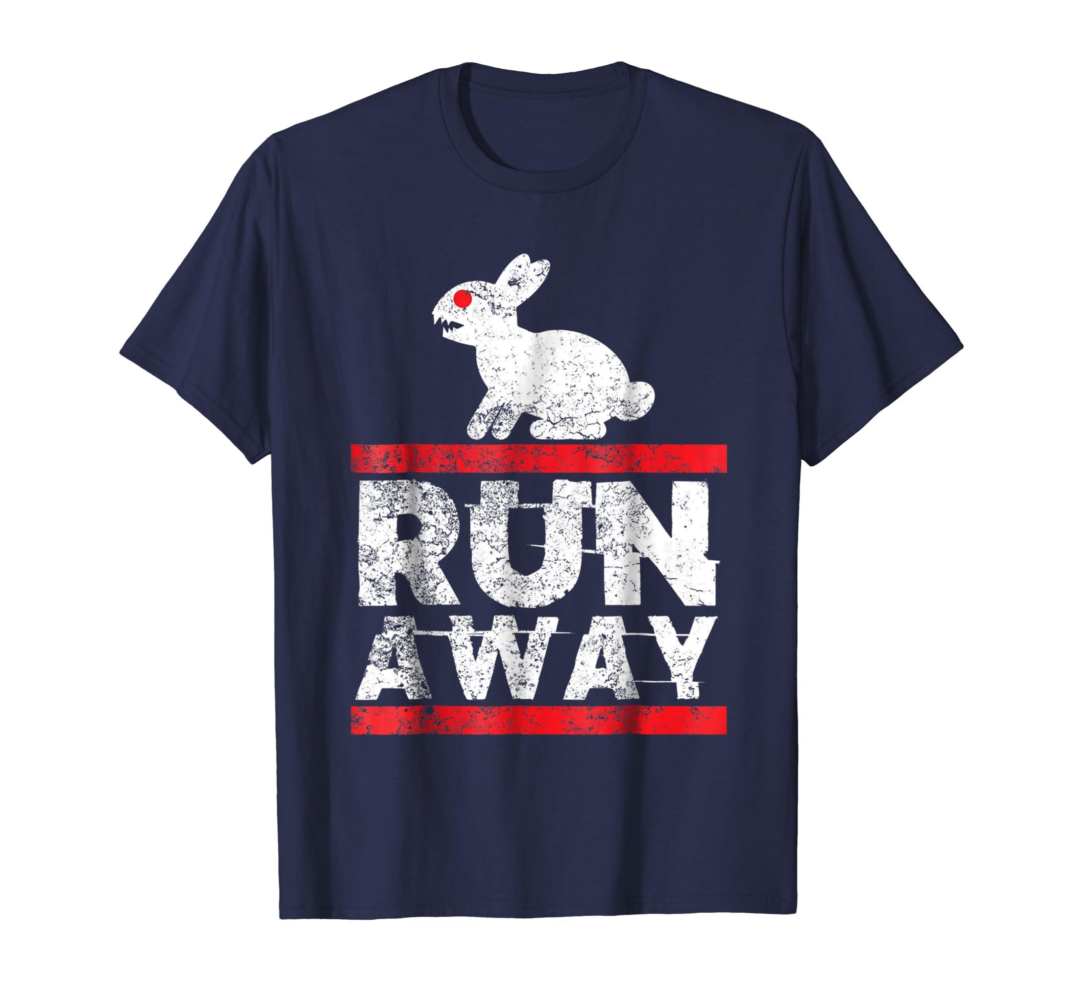 Holy Killer Bunny Monty Run Away Grail Quest Python T shirt-azvn