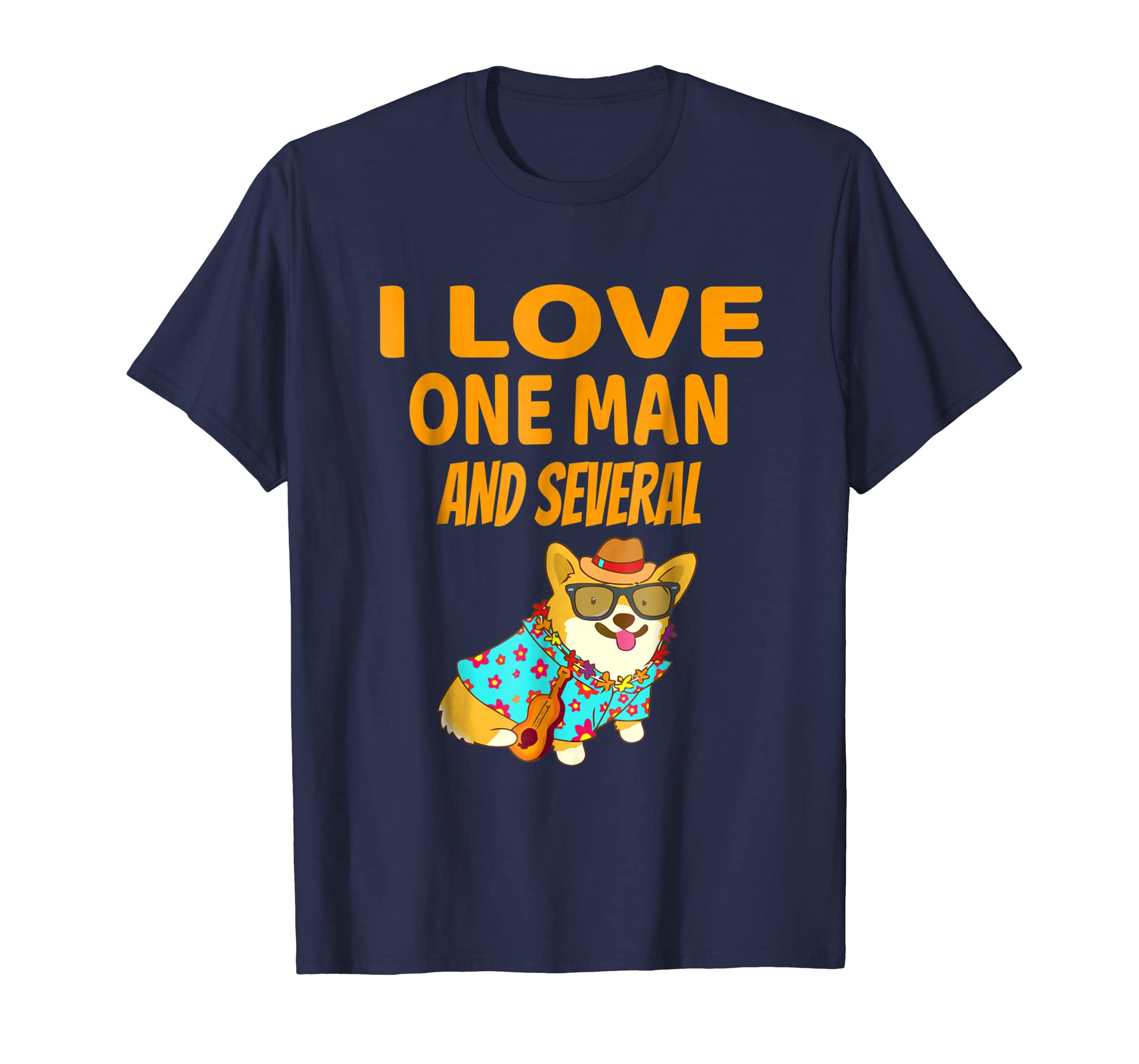 I Love One Man And Several Dogs Shirt-AZP