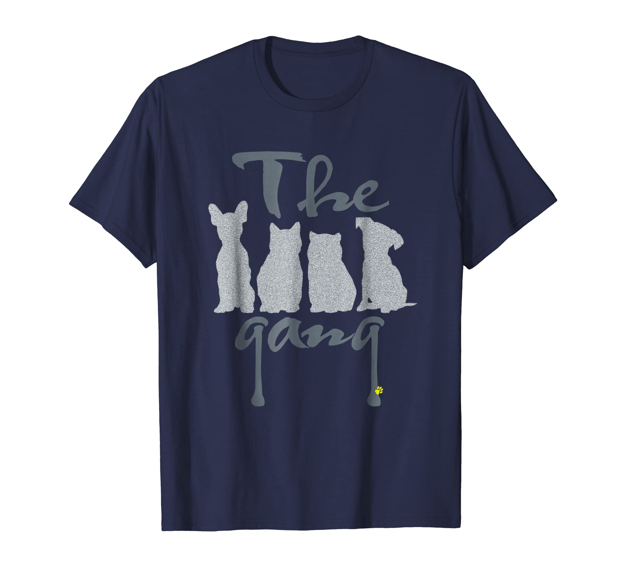 Cats and dogs are my love, my pet gang,funny t-shirt-AZP