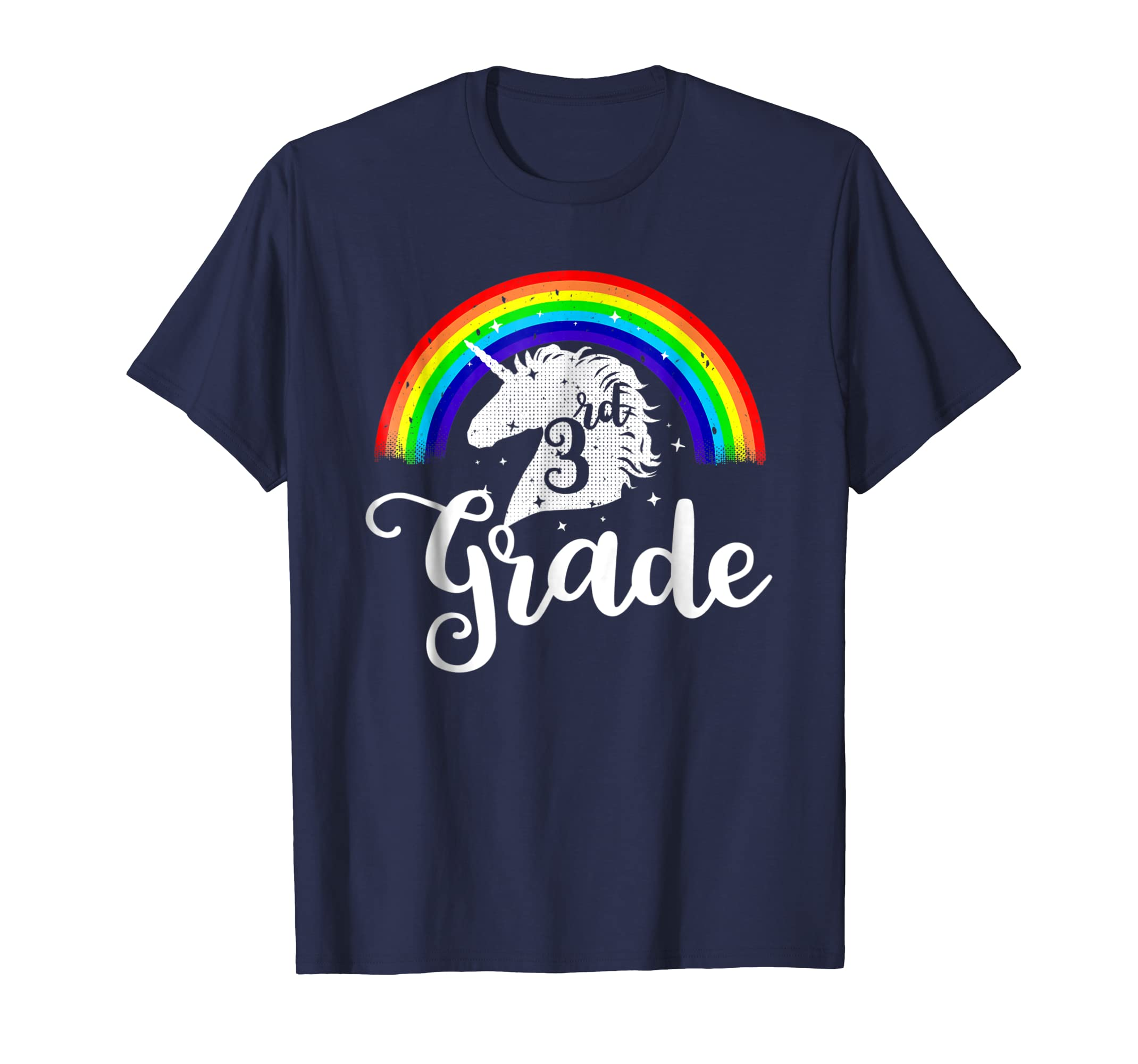 3rd Unicorn Grade Teacher Shirts Back To School GiftTee-Awarplus