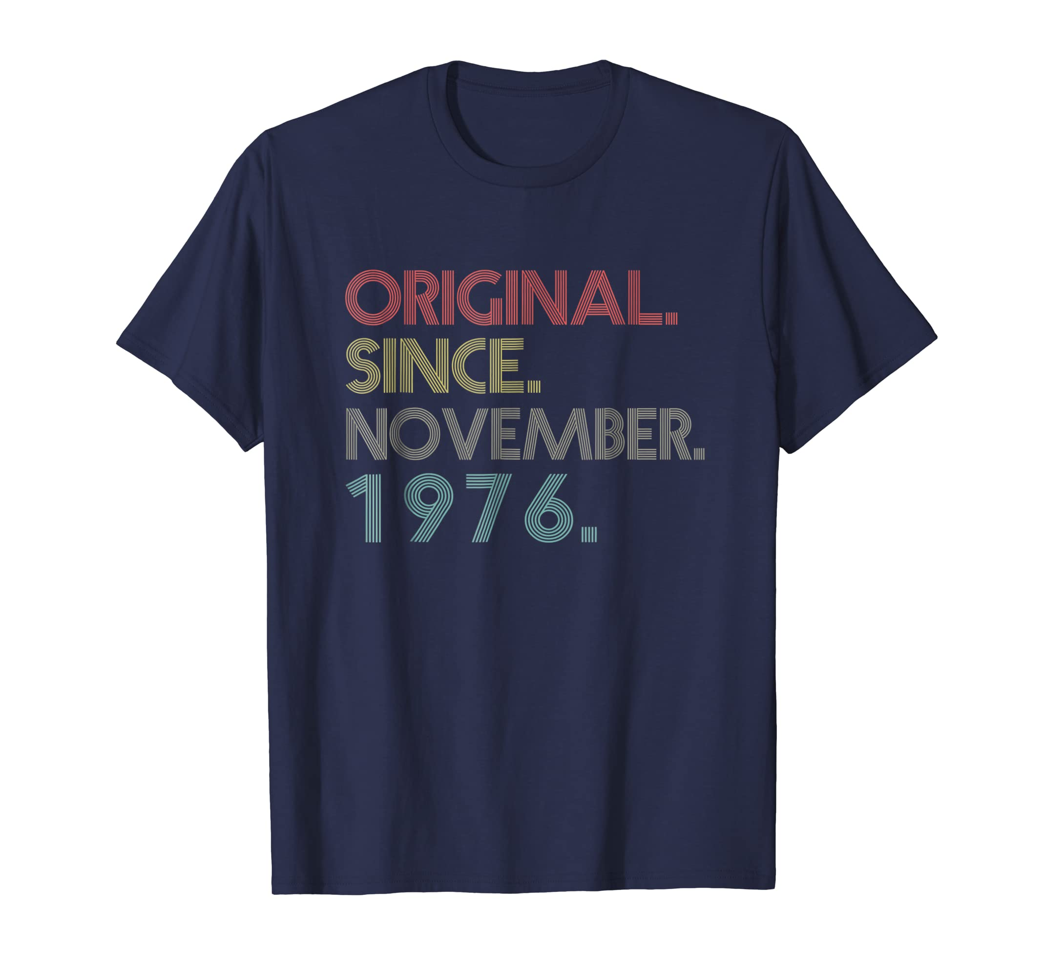 42nd Birthday Vintage Original since November 1976 T Shirt-azvn