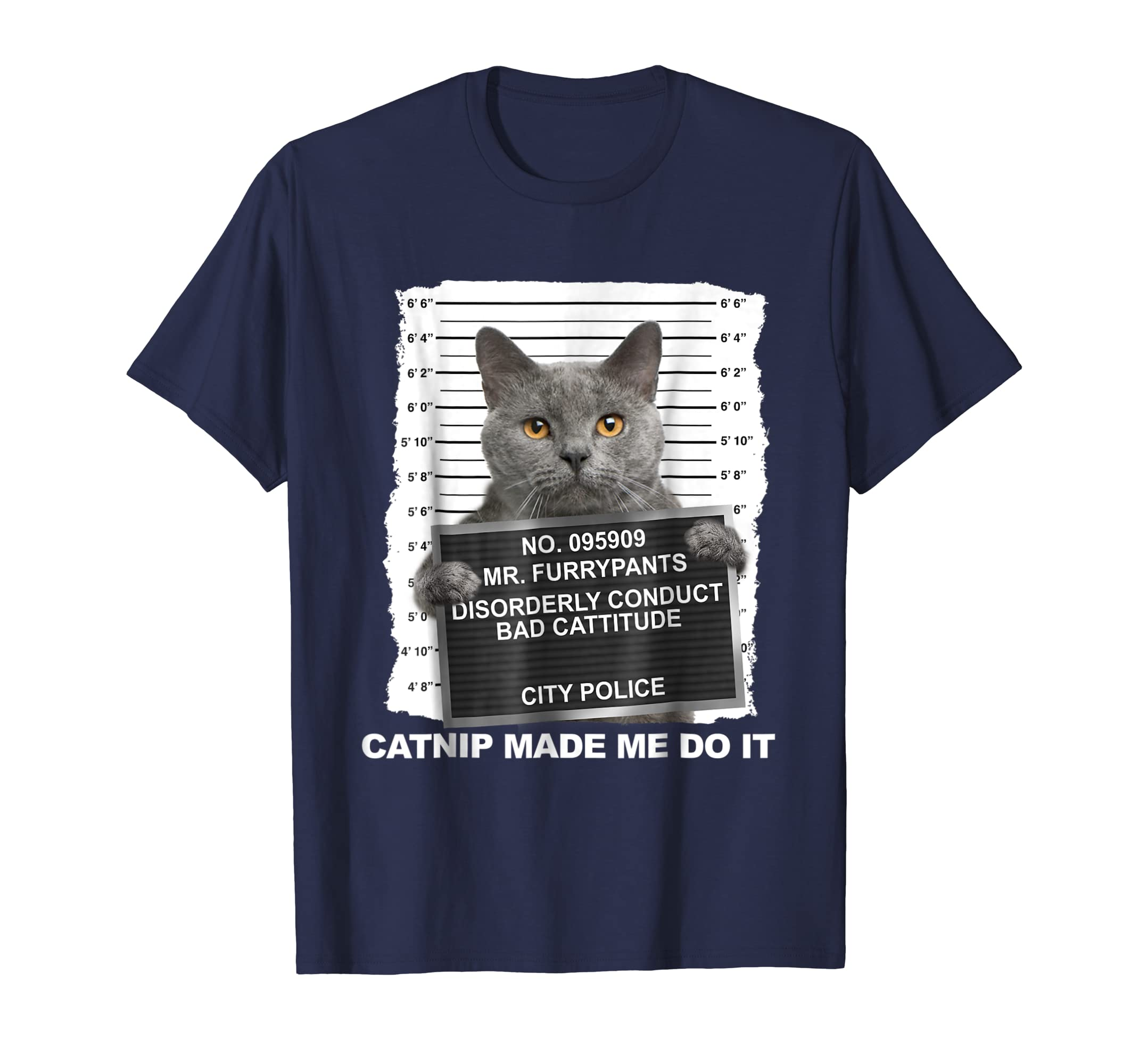 Catnip Made Me Do It Cat Tshirt Funny Cat Tee-azvn