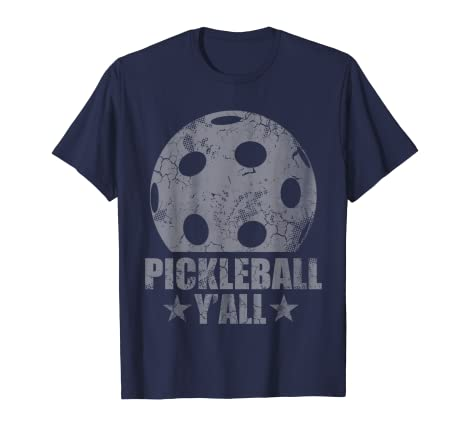 18ae107da7 Amazon.com: Pickleball Y'all T-Shirt: Clothing