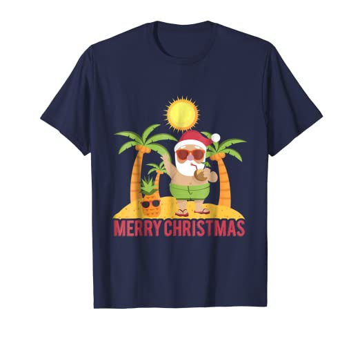 8e46d7eb2175 Image Unavailable. Image not available for. Color  Funny Santa Claus Summer  Shirt Christmas Outfit