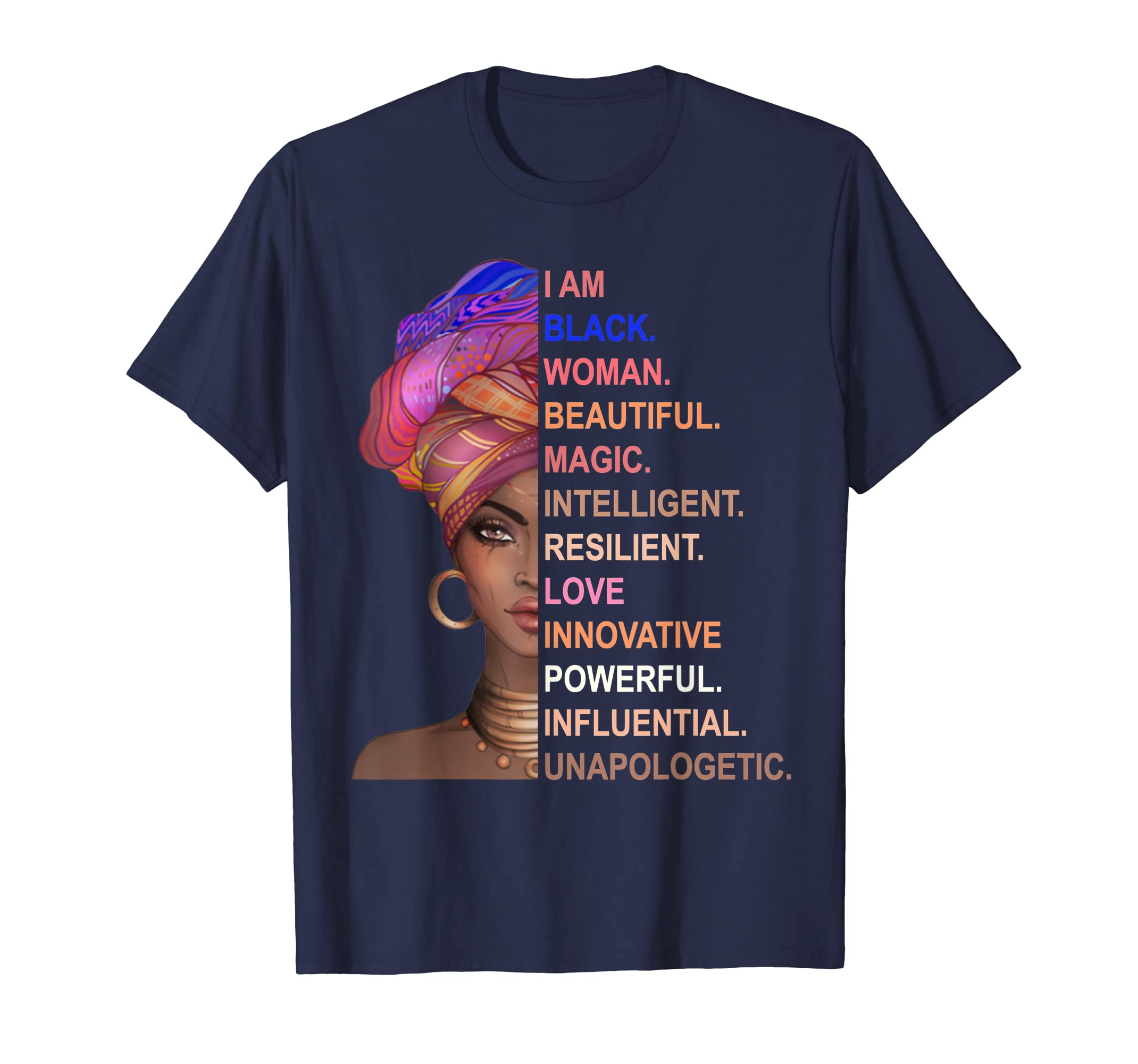 I Am Black Woman - Funny Black History Month Shirt Gift-SFL
