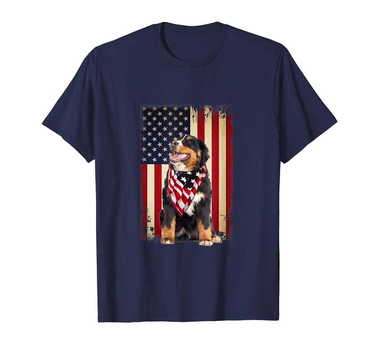 Bernese Mountain flag country-Men's T-Shirt-Navy