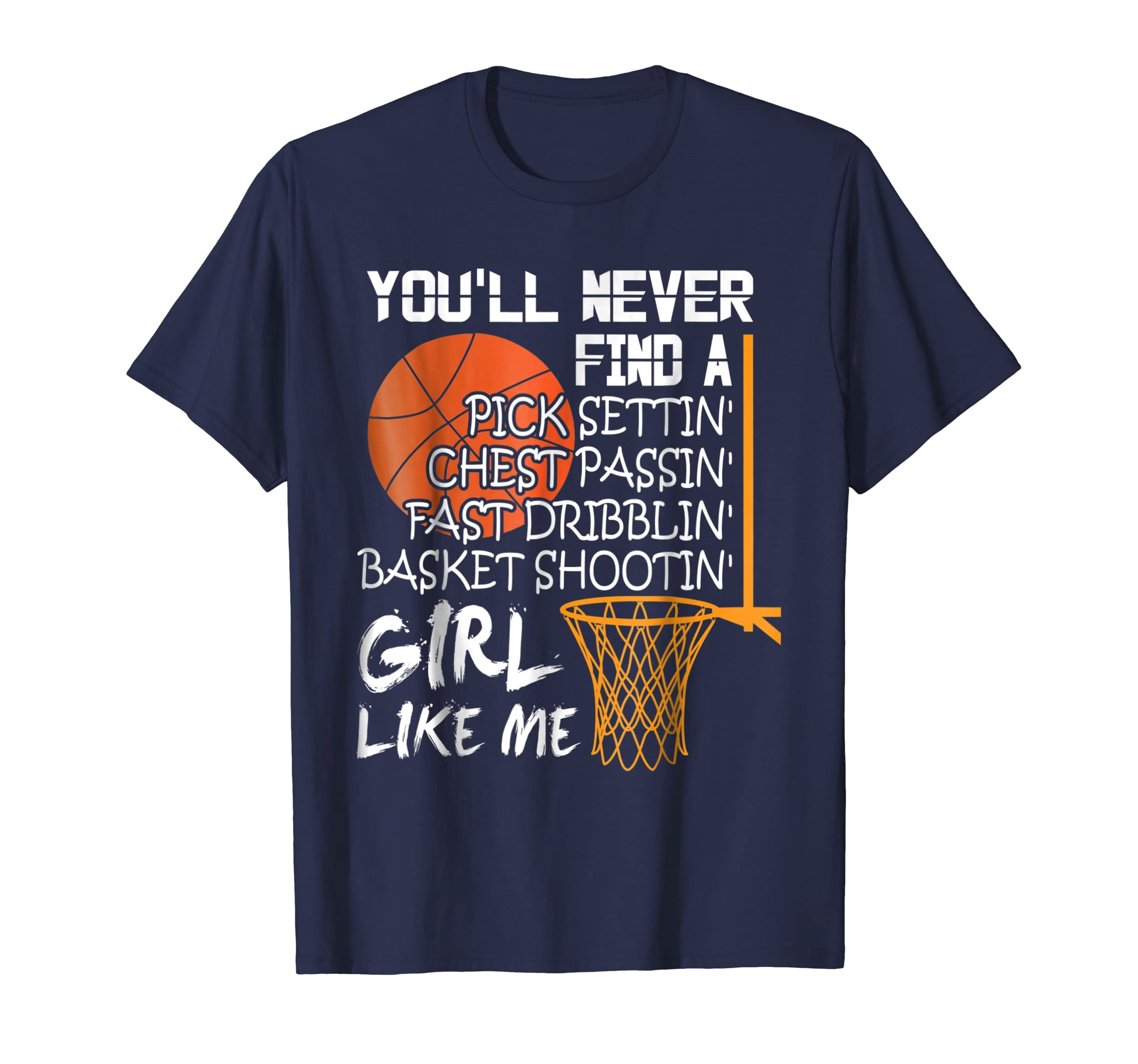 Basketball Shooting T Shirt, Girl Like Me T Shirt-azvn